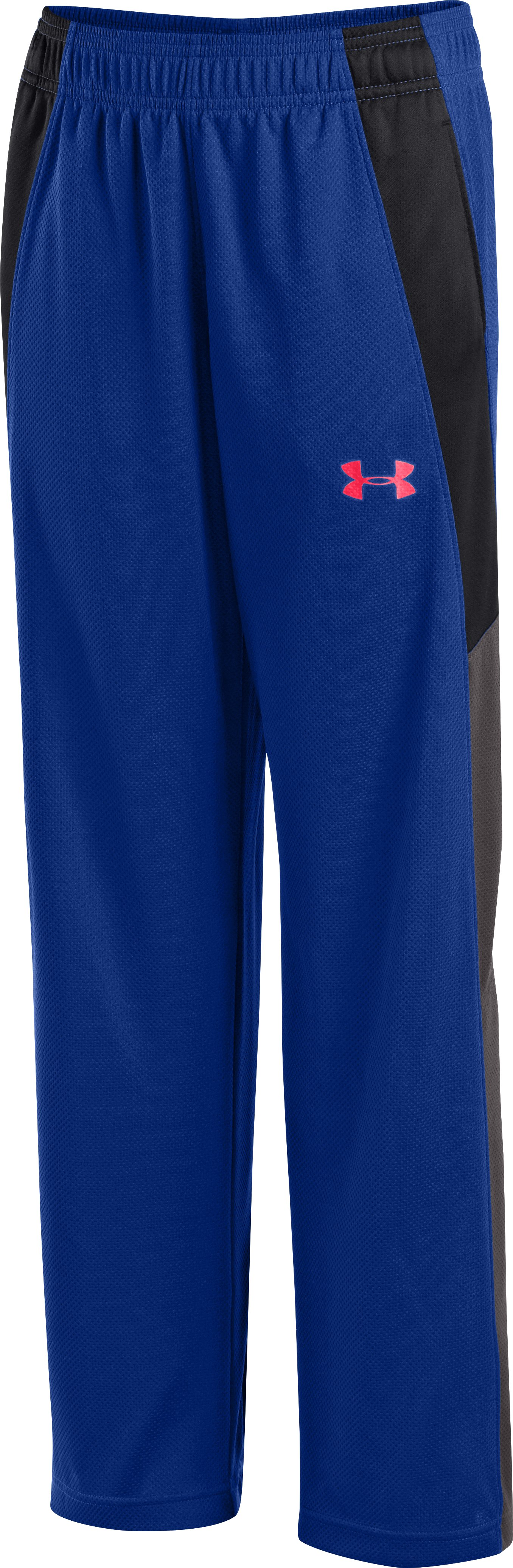Boys' UA Hero Warm-Up Pants, Royal, zoomed image