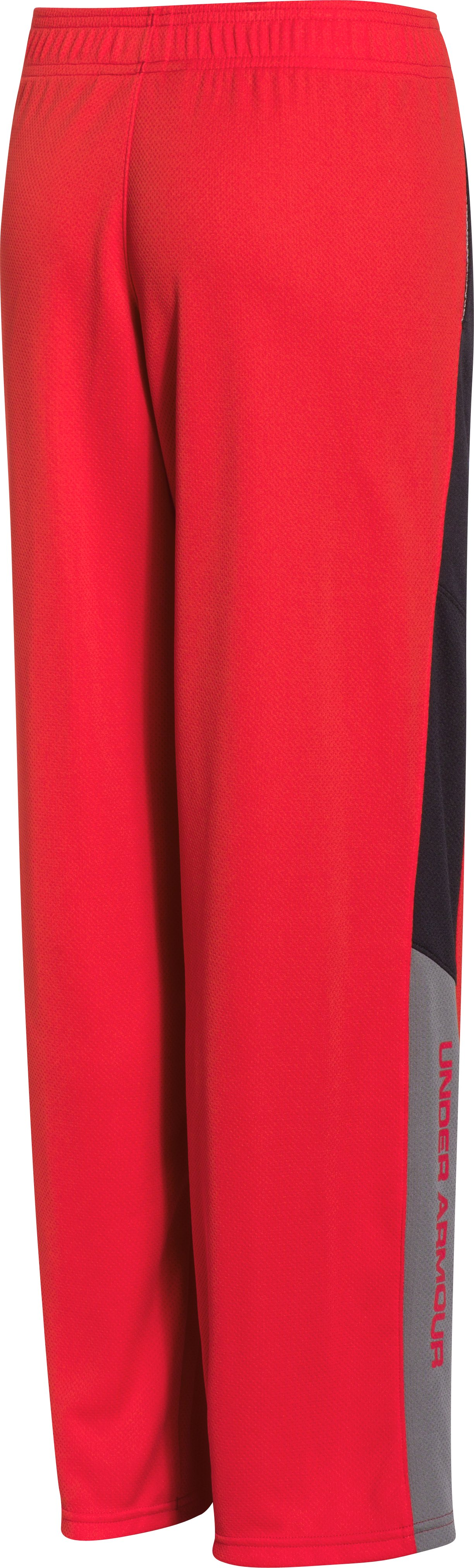 Boys' UA Hero Warm-Up Pants, RISK RED