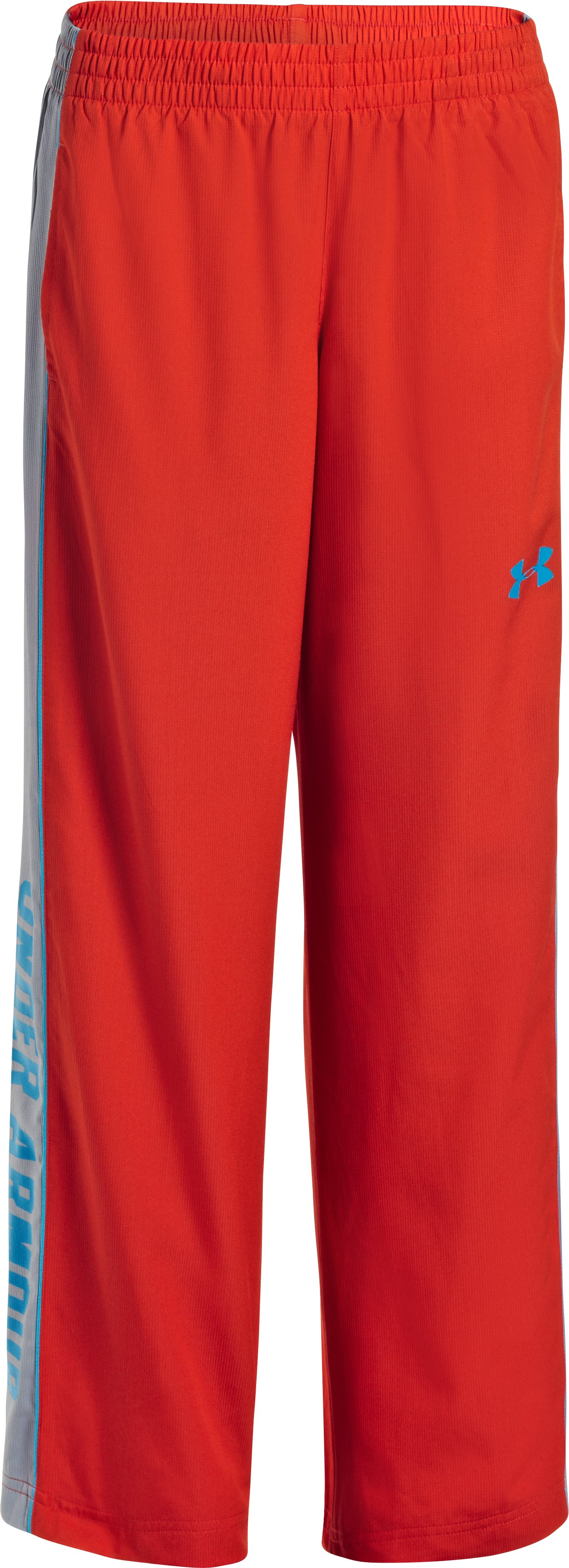 Boys' UA Brawler Woven Warm-Up Pants, Noise