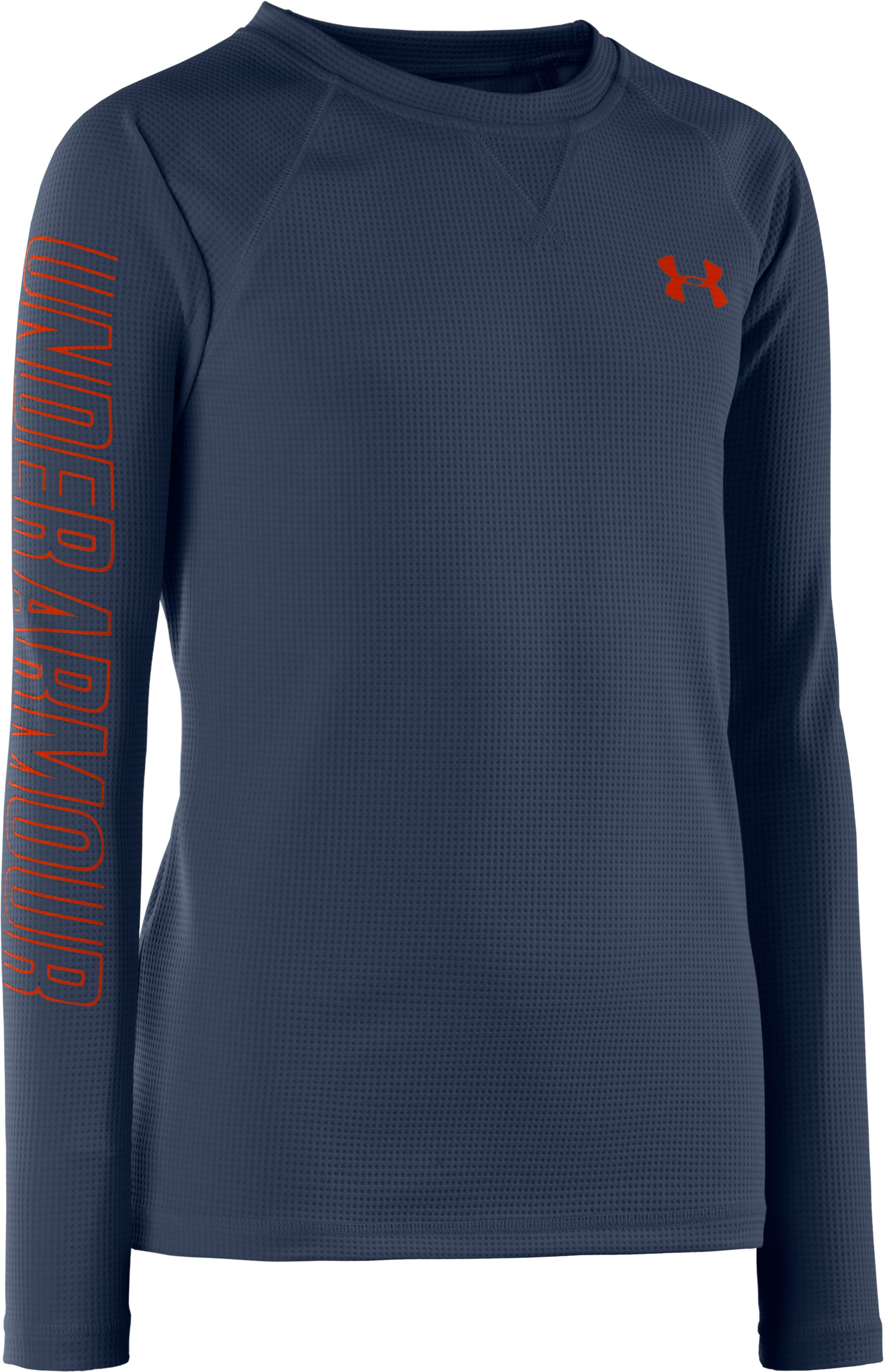 Boys' UA Momentum Shirt, Mechanic Blue, zoomed image