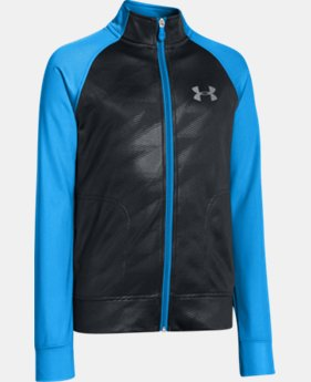Boys' UA Brawler Knit Warm-Up Jacket 2.0  2 Colors $23.99 to $29.99