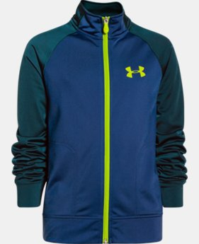 Boys' UA Brawler Knit Warm-Up Jacket 2.0  1 Color $23.99 to $29.99
