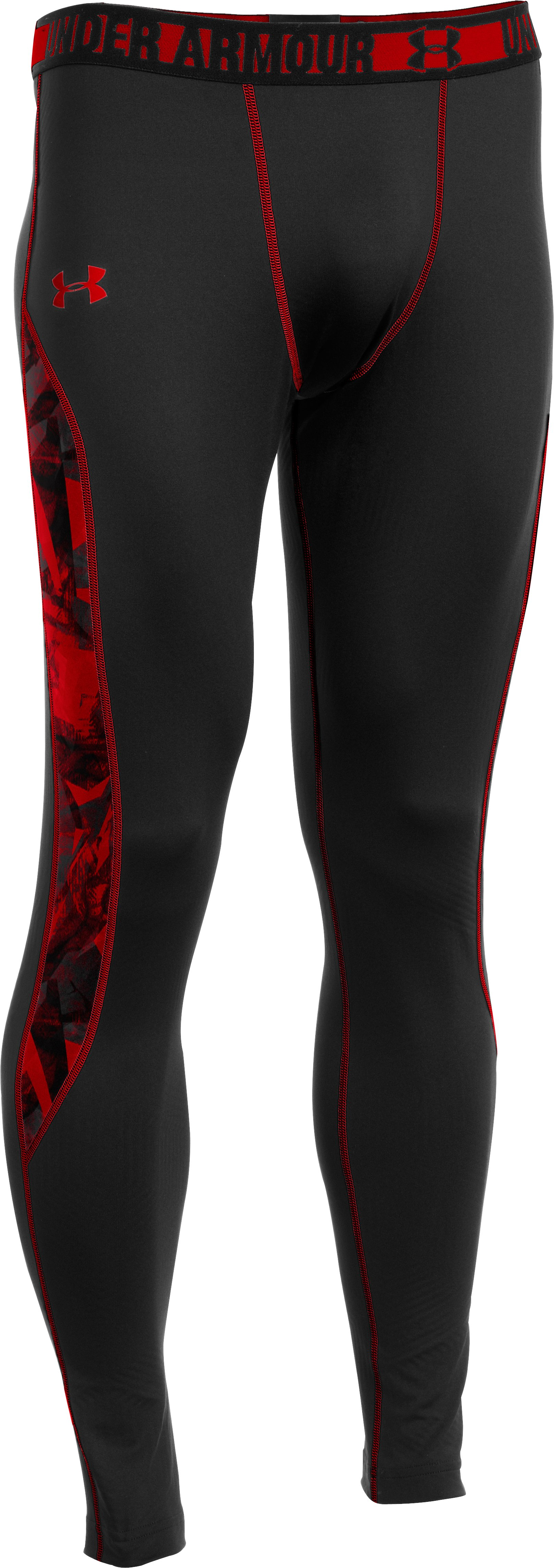 Men's ColdGear® Infrared Evo Fitted Leggings, Black