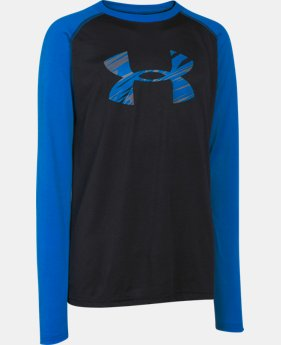 Boys' UA Tech™ Big Logo Long Sleeve T-Shirt  1 Color $18.99 to $24.99