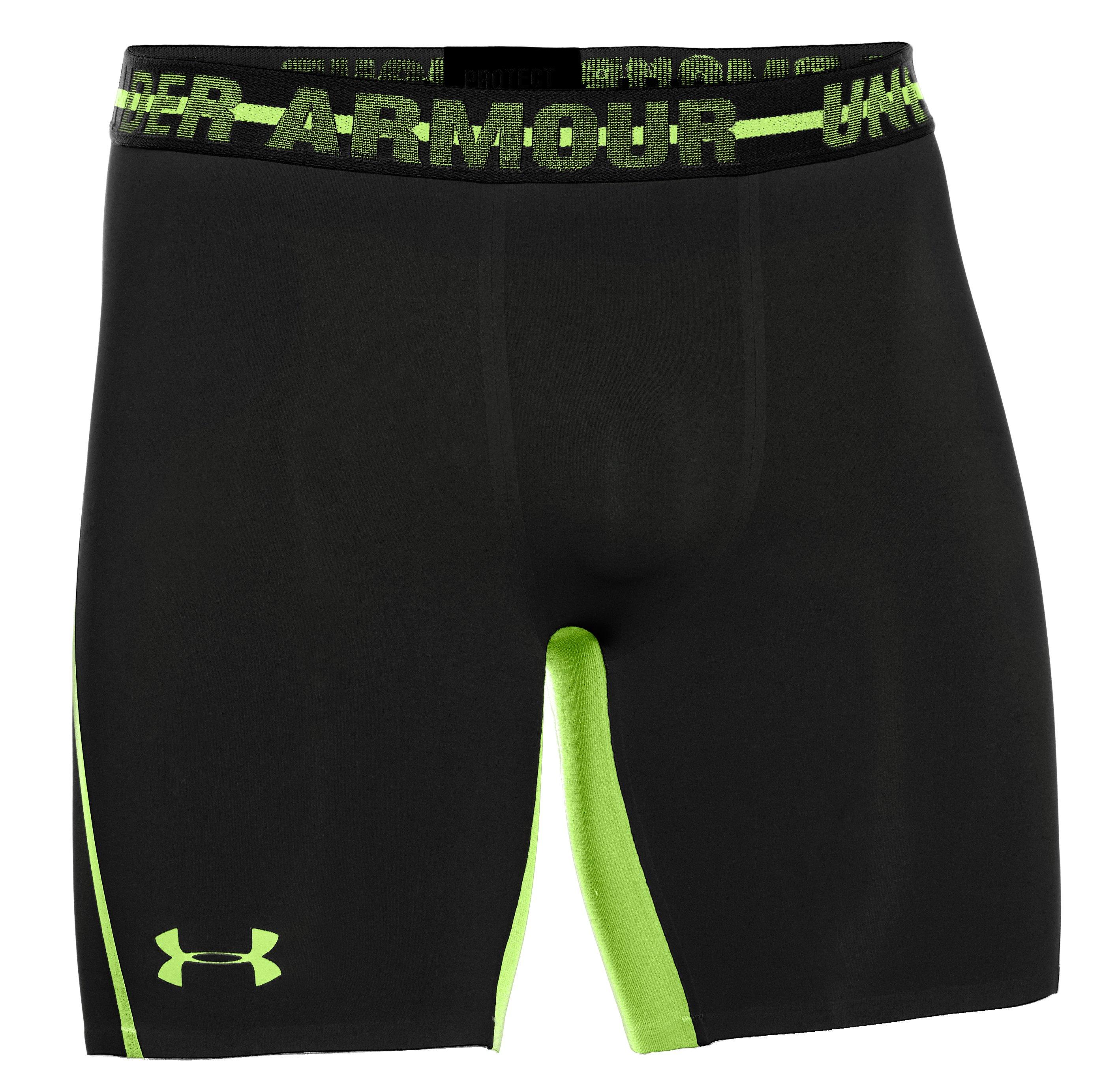 Men's UA HeatGear® Armour® Stretch Compression Shorts, Black