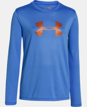 Girls' UA Tech™ Big Logo Long Sleeve  1 Color $22.99