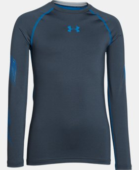 Boys'' UA Hockey Grippy Fitted Shirt  1 Color $54.99