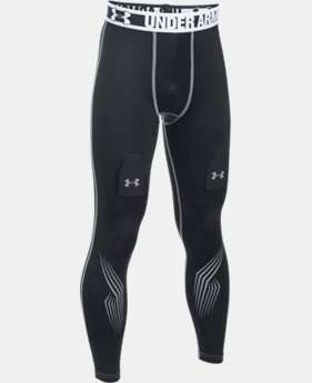 Boys' UA Hockey Grippy Fitted Leggings LIMITED TIME: FREE SHIPPING 1 Color $44.99 to $59.99