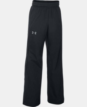 Boys'' UA Storm Puck Warm-Up Pants  1 Color $54.99