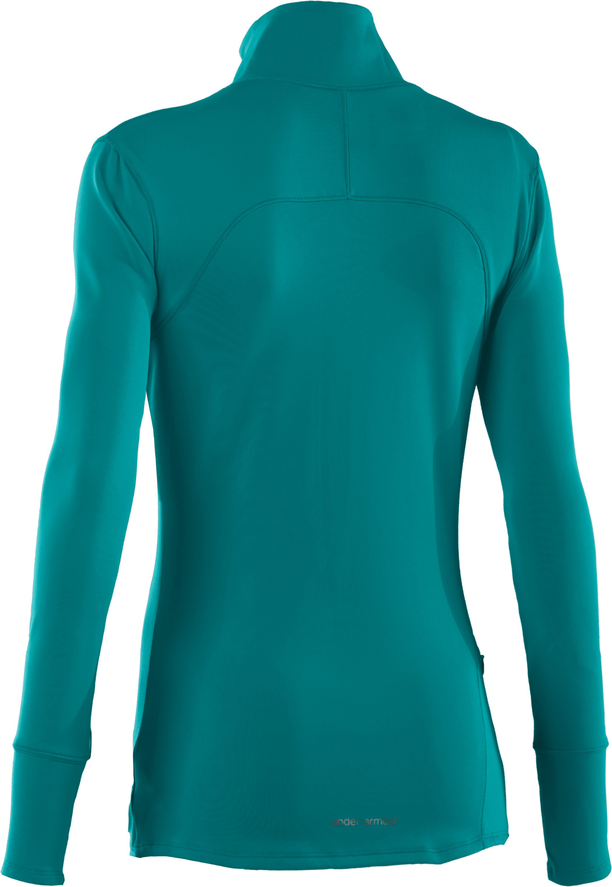 Women's UA Qualifier Knit ¼ Zip, CERULEAN