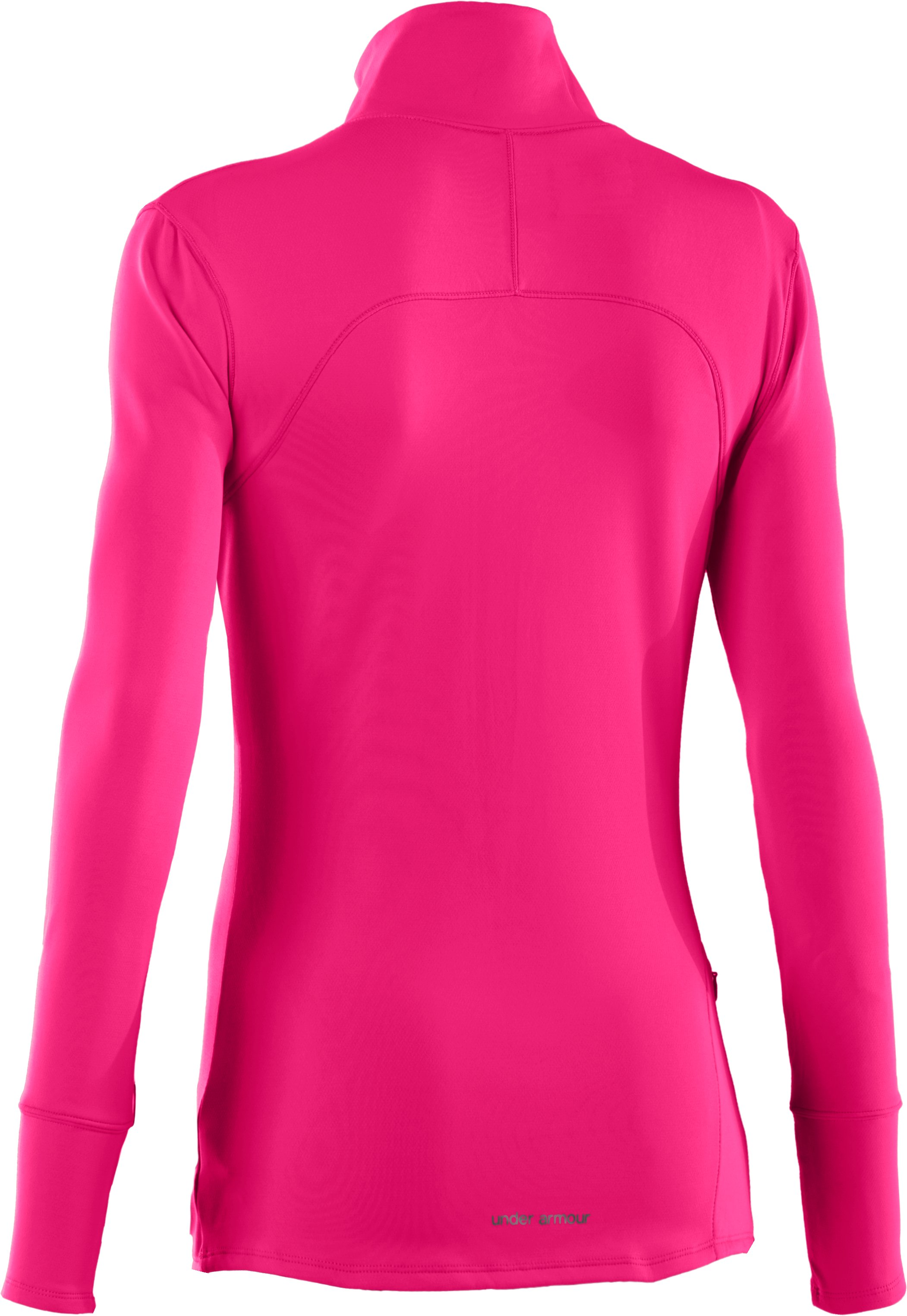 Women's UA Qualifier Knit ¼ Zip, Cerise