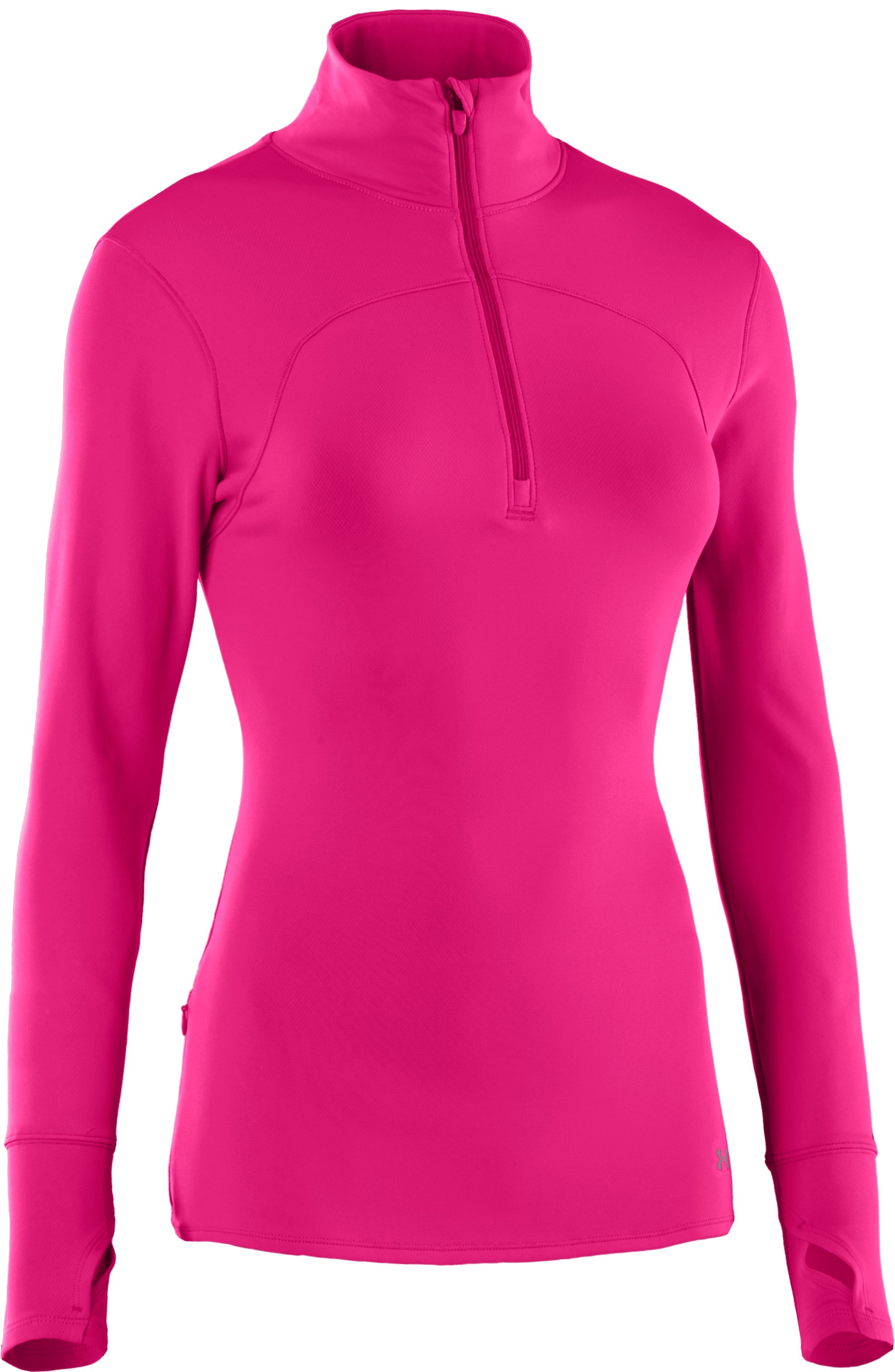 Women's UA Qualifier Knit ¼ Zip, PINKADELIC