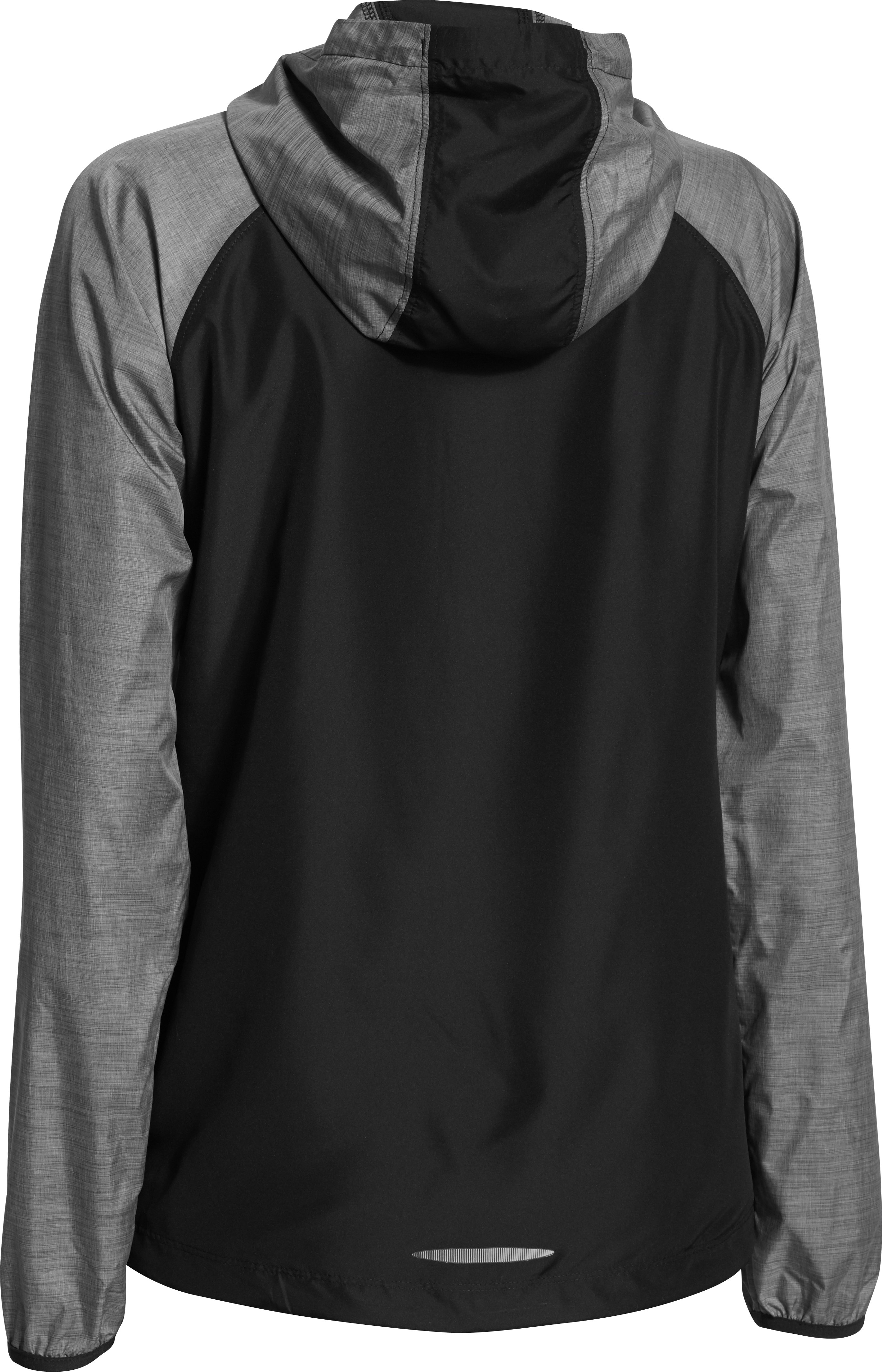 Women's UA Qualifier Woven Jacket, Black