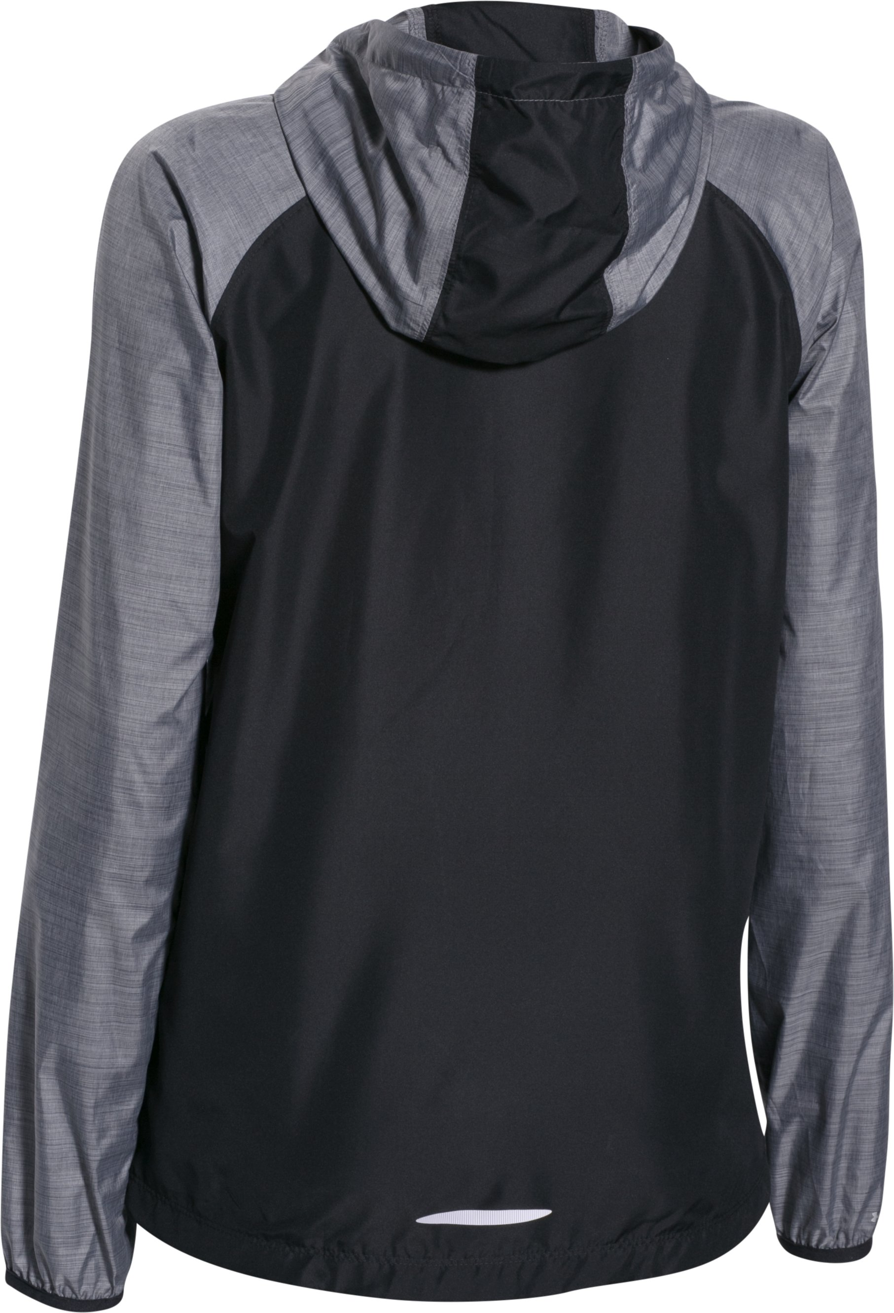 Women's UA Qualifier Woven Jacket, Black , undefined