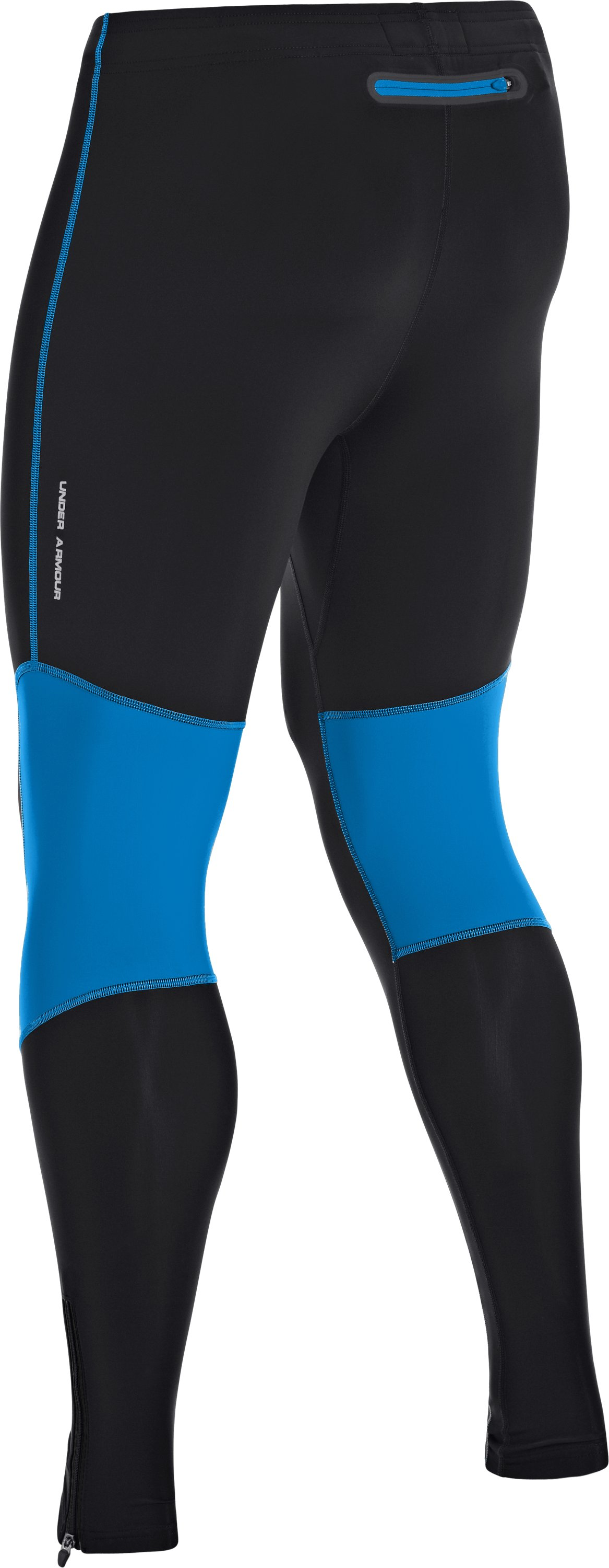 Men's UA Run Compression Leggings, Black