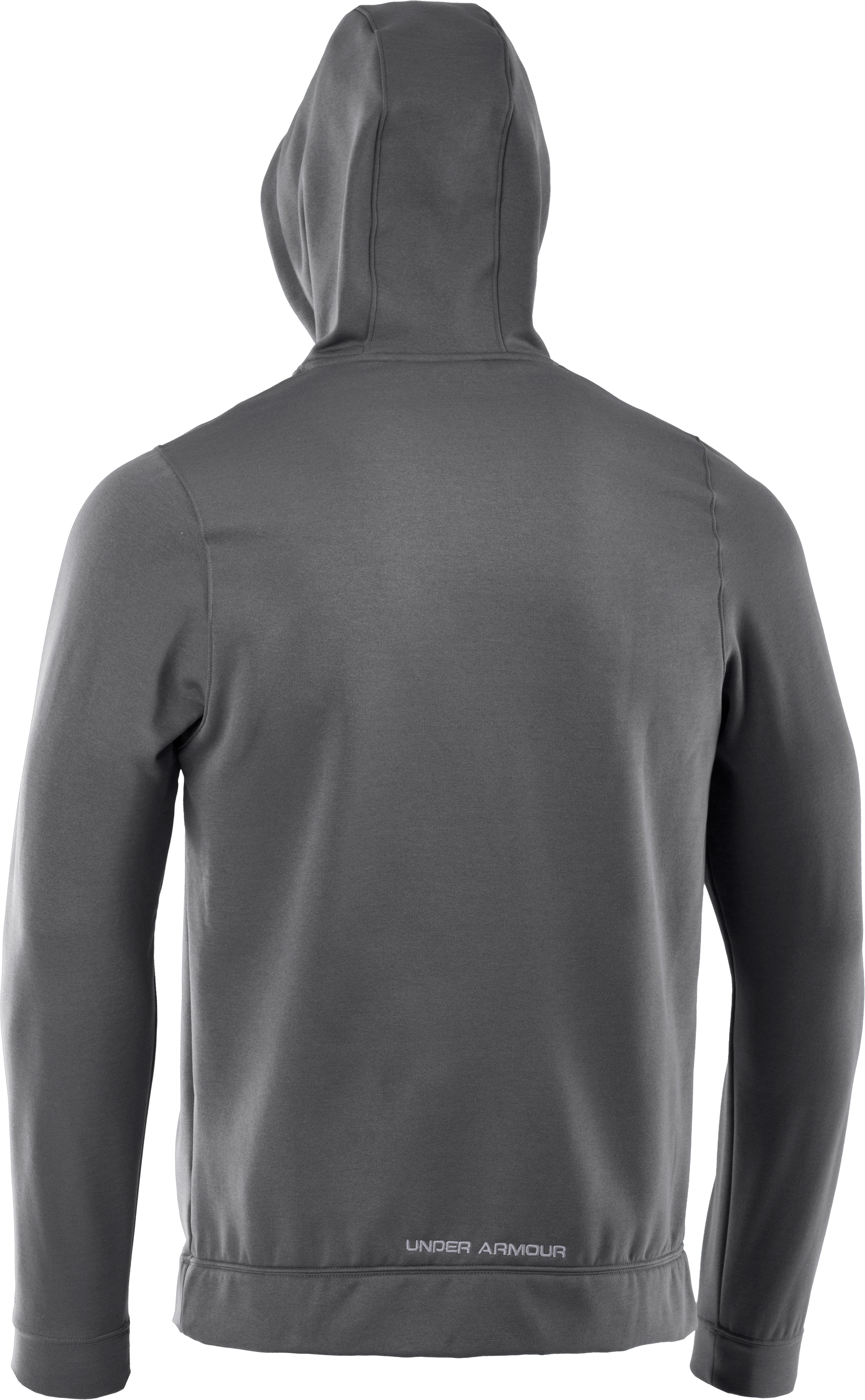Men's UA Storm Armour® Fleece Pattern Big Logo Hoodie, Graphite