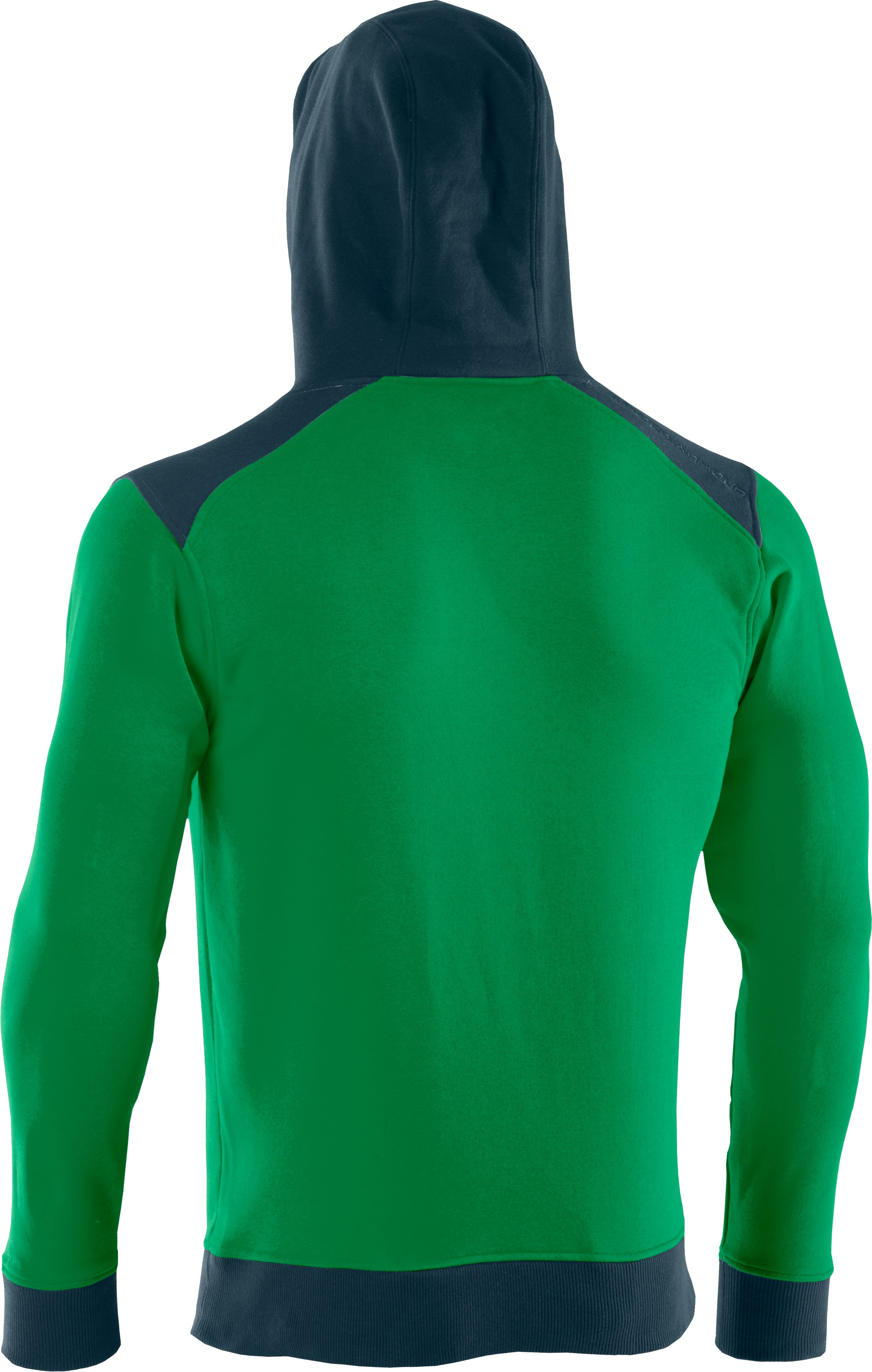 Men's Charged Cotton® Storm Hoodie, ASTRO GREEN