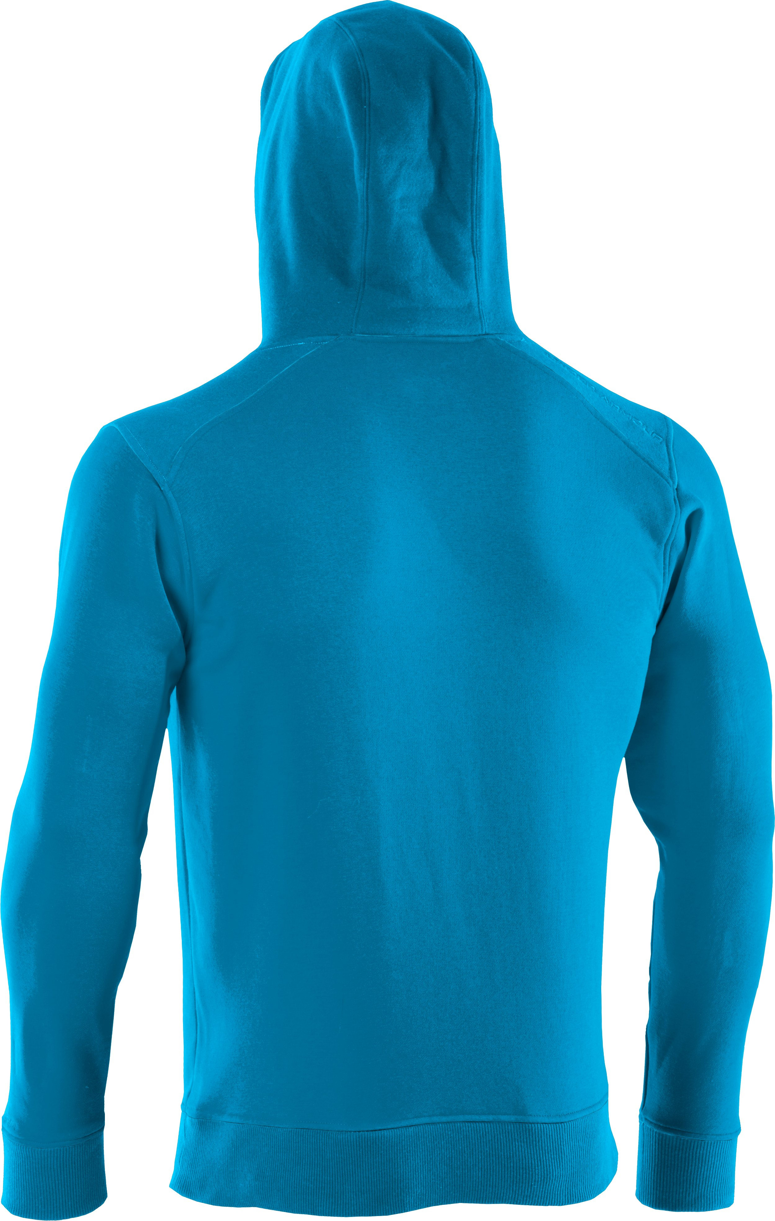 Men's Charged Cotton® Storm Hoodie, PIRATE BLUE