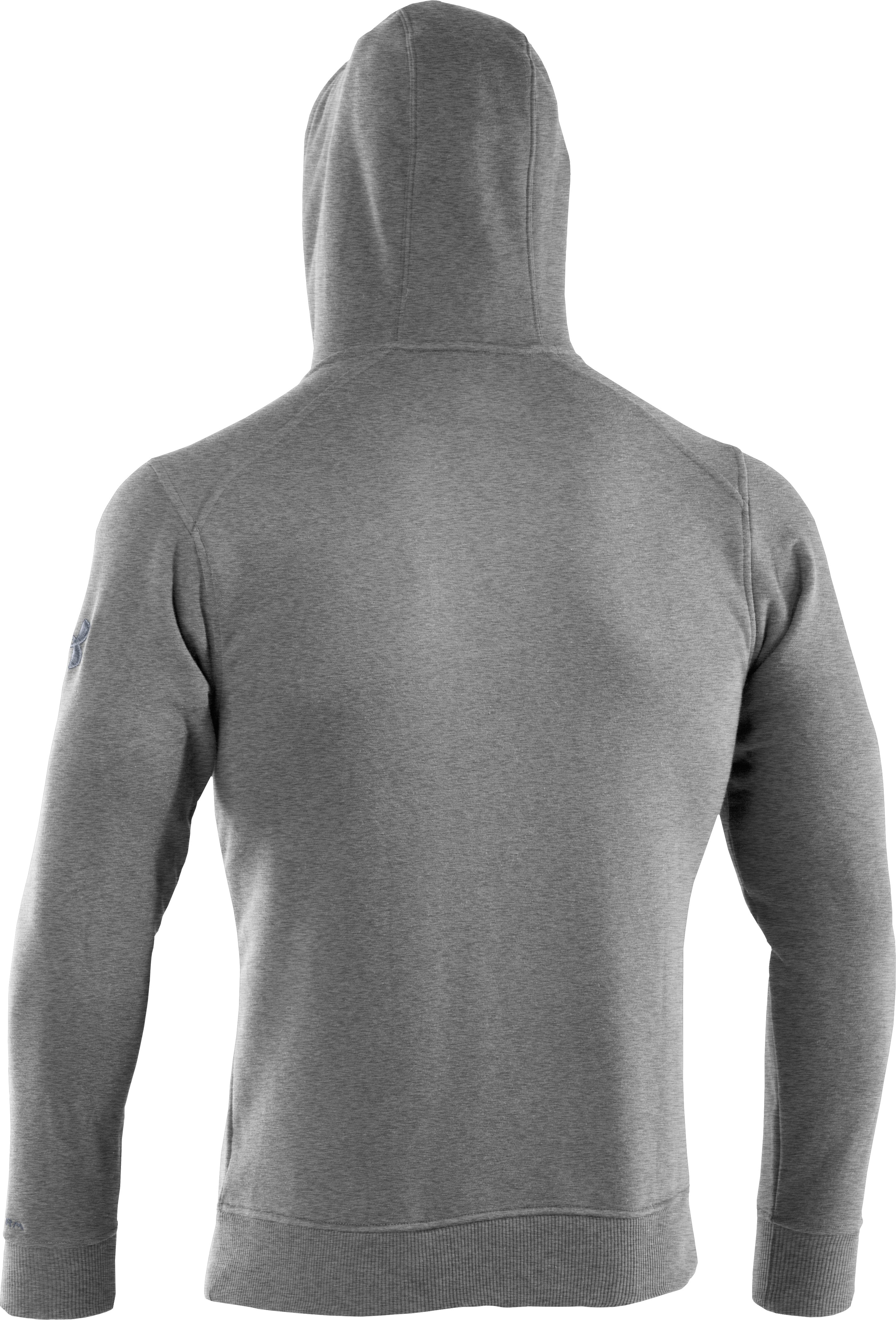 Men's Charged Cotton® Storm Full Zip Hoodie, True Gray Heather, undefined