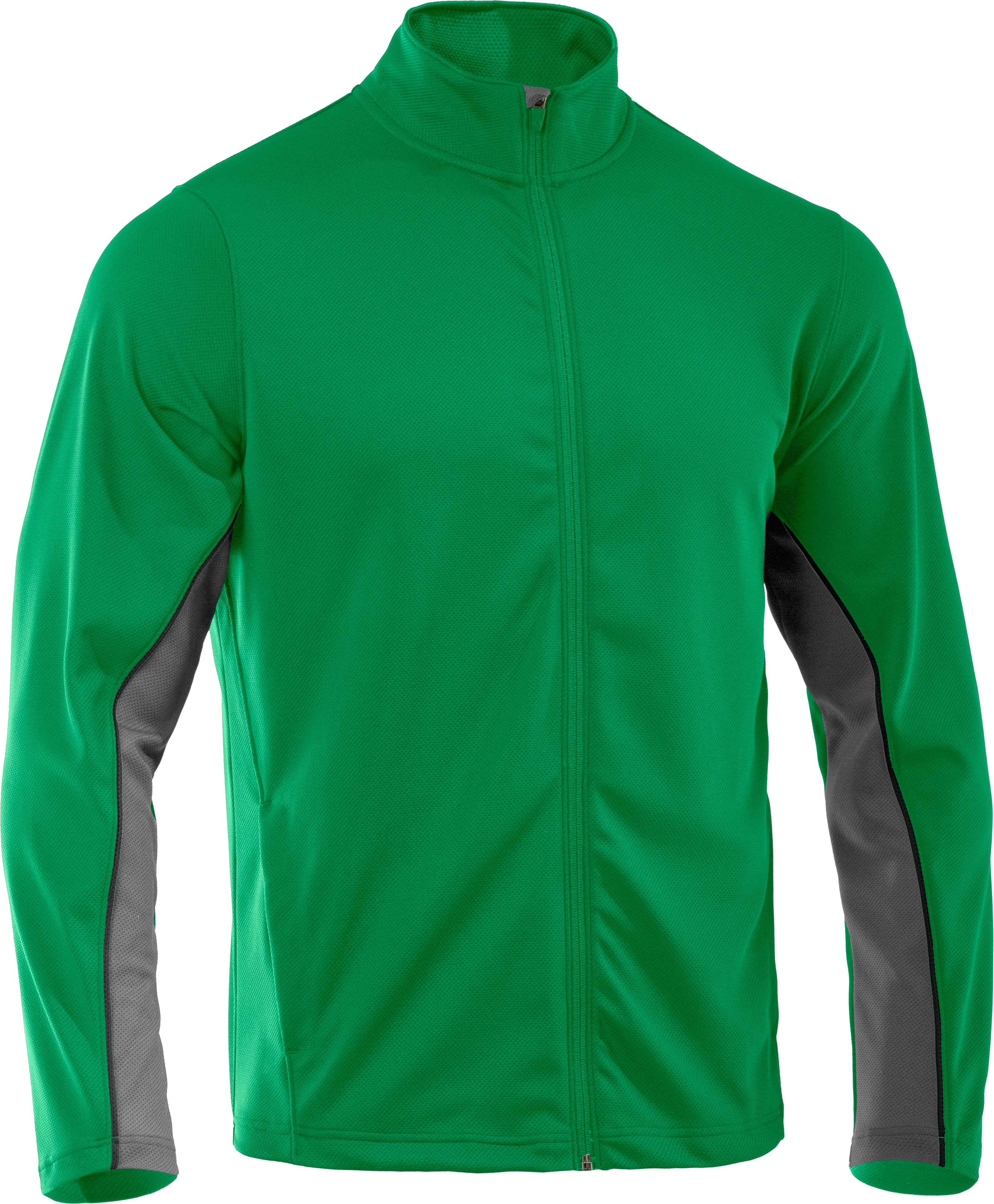 Men's UA Reflex Warm-Up Jacket, ASTRO GREEN, undefined