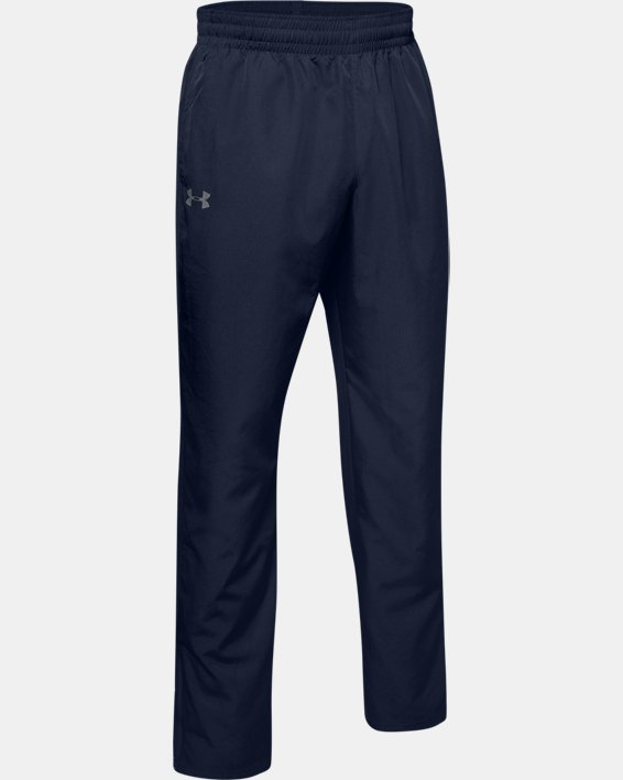 Men's UA Vital Warm-Up Pants, Navy, pdpMainDesktop image number 4