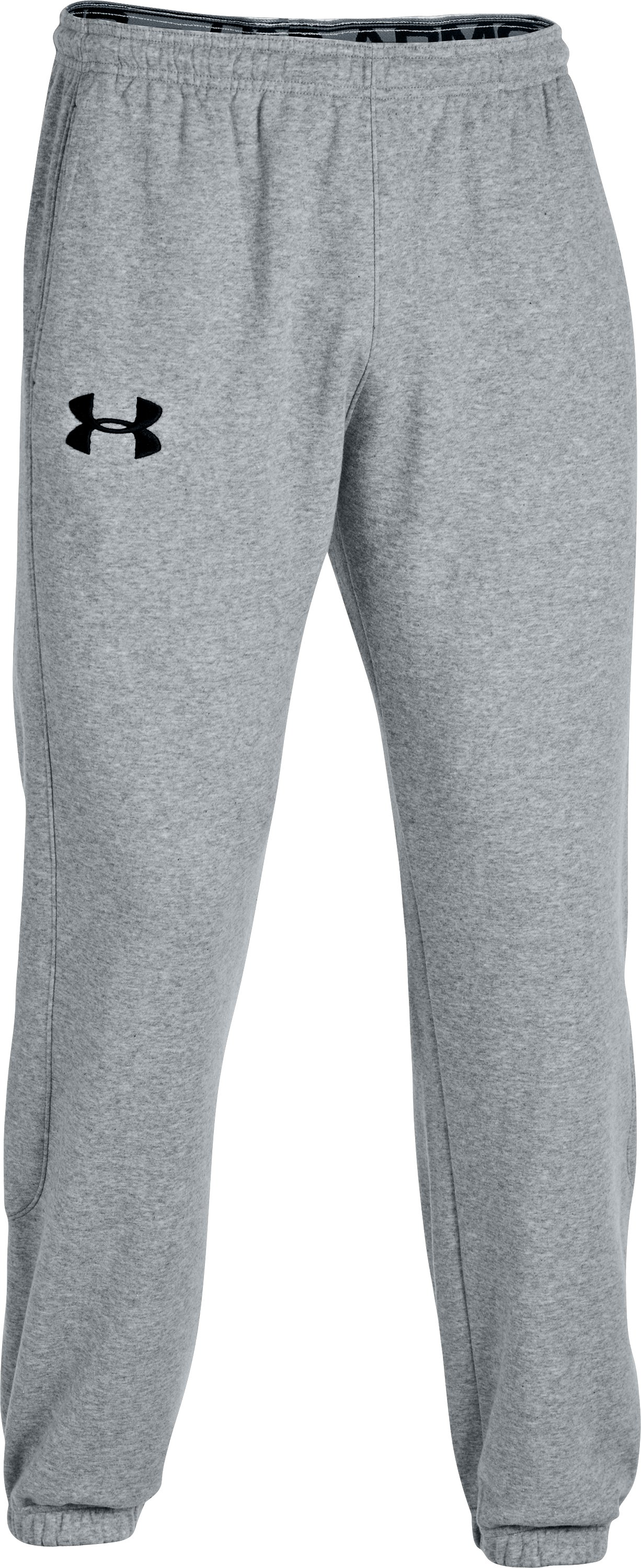 Men's Charged Cotton® Storm Cuffed Pants, True Gray Heather, zoomed image