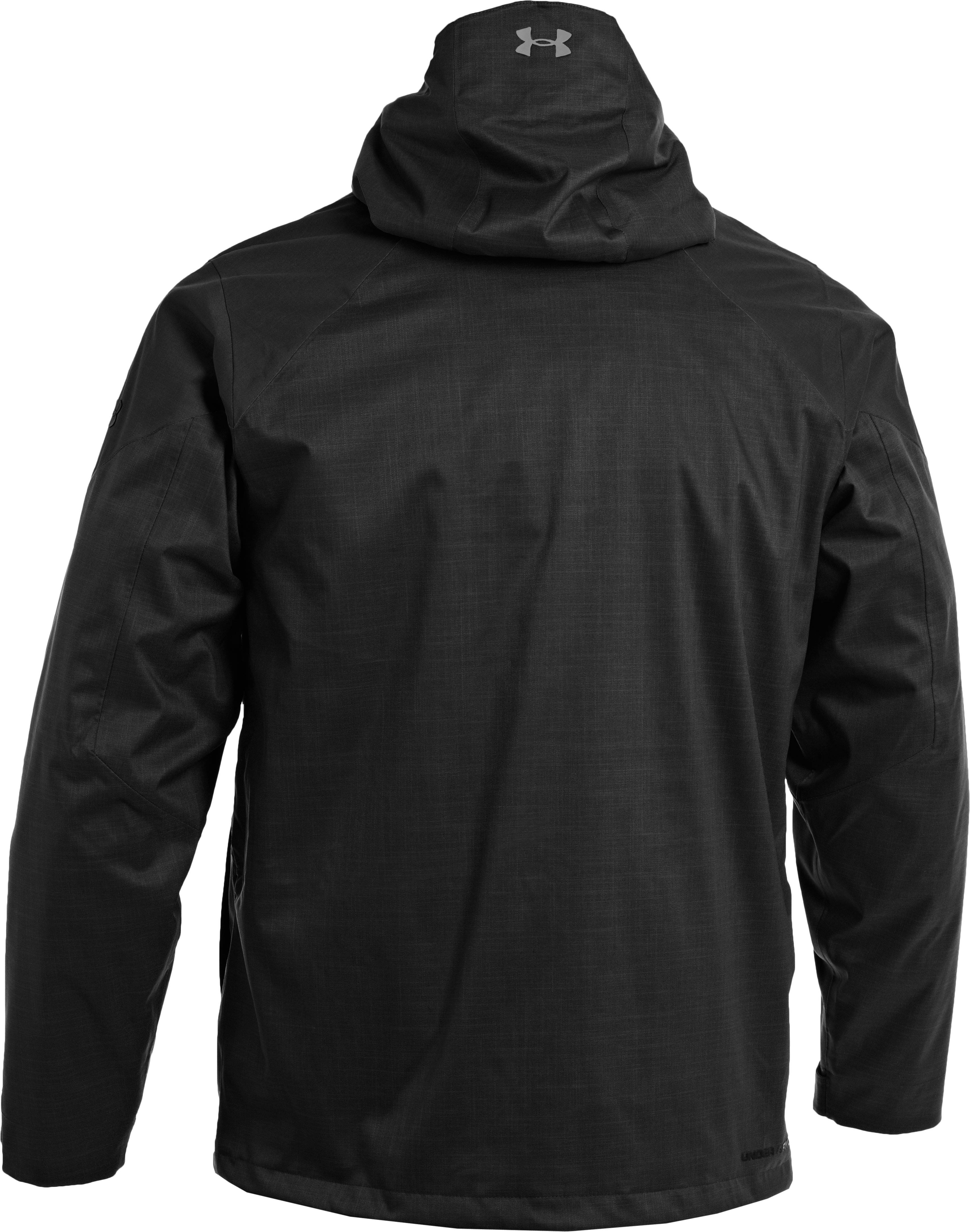 Men's ColdGear® Infrared Tripper 3-in-1 Jacket, Black , undefined