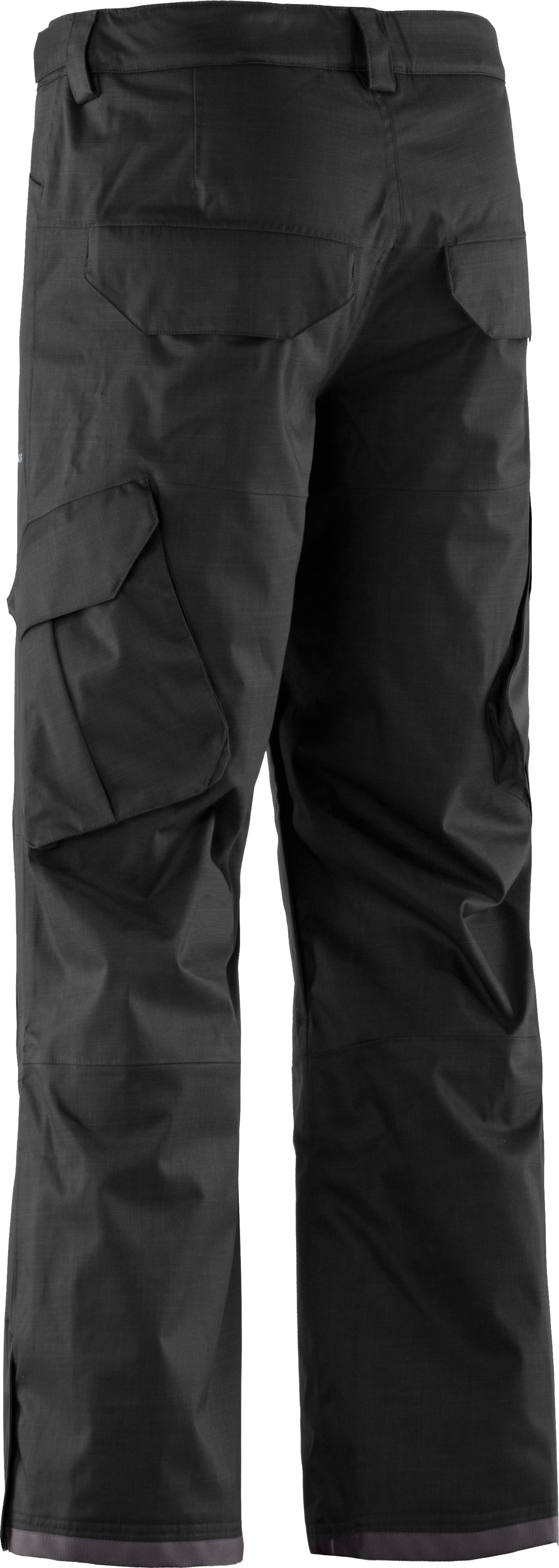 Men's ColdGear® Infrared Snocone Pants, Black , undefined