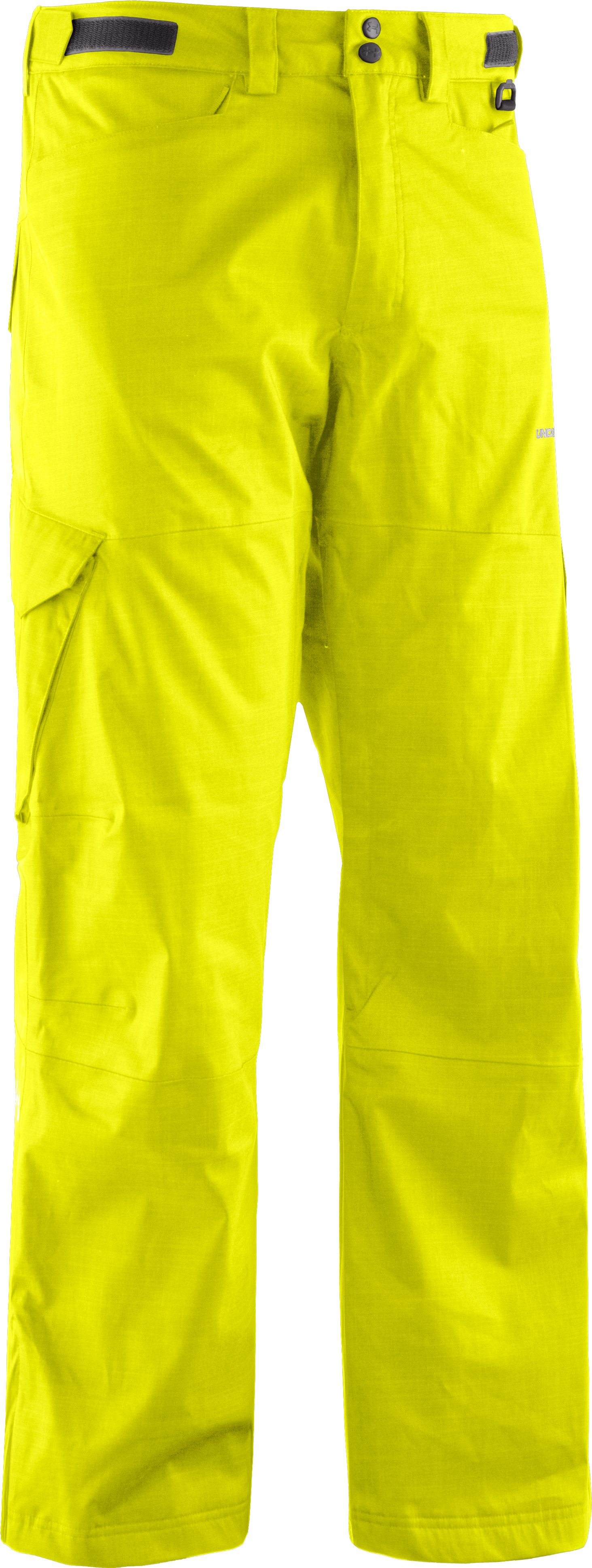 Men's ColdGear® Infrared Snocone Pants, High-Vis Yellow