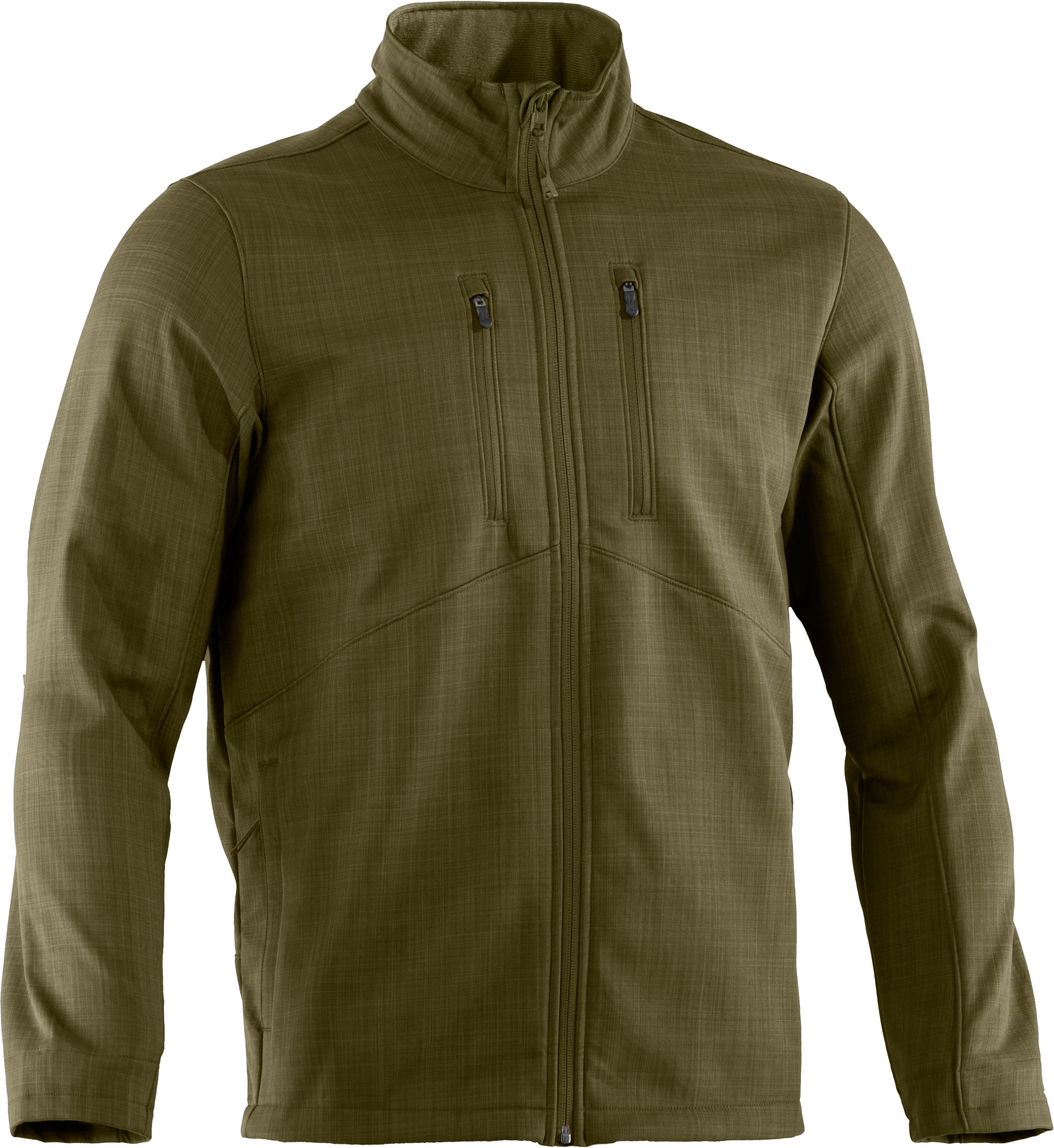 Men's ColdGear® Infrared Radar Softshell, GREENHEAD