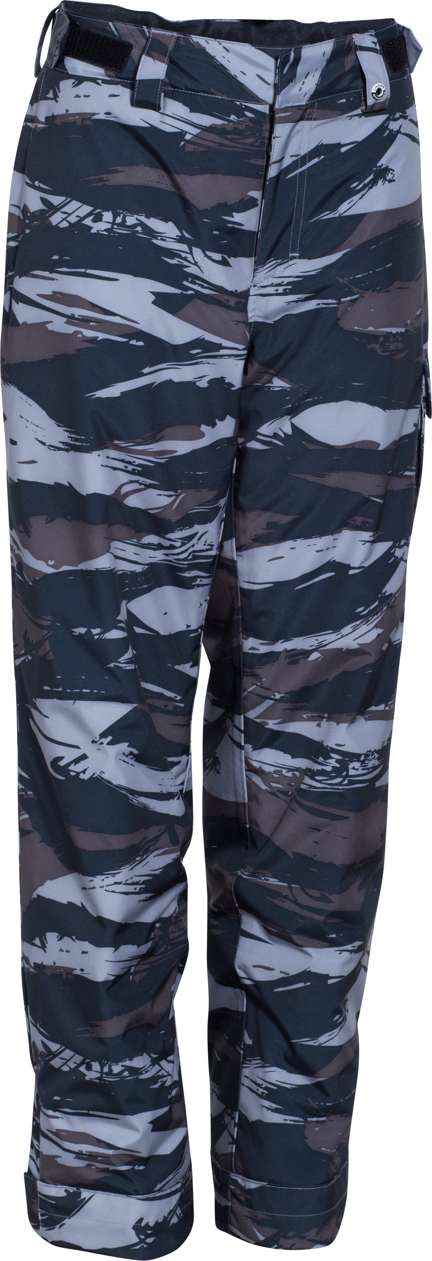 Boys' ColdGear® Infrared Hacker Pants, Steel, zoomed image