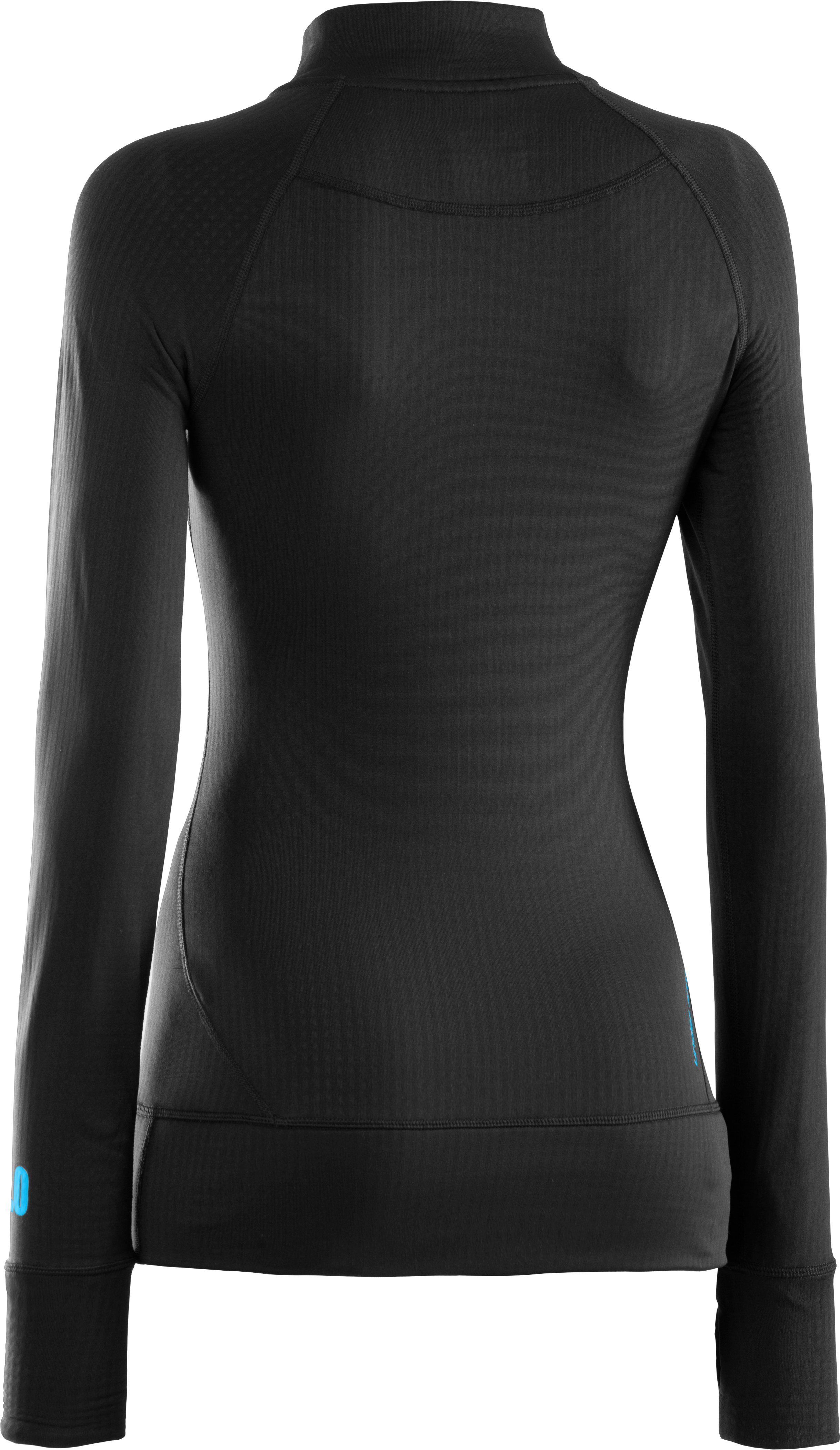 Women's UA Base™ 2.0 ¼ Zip, Black