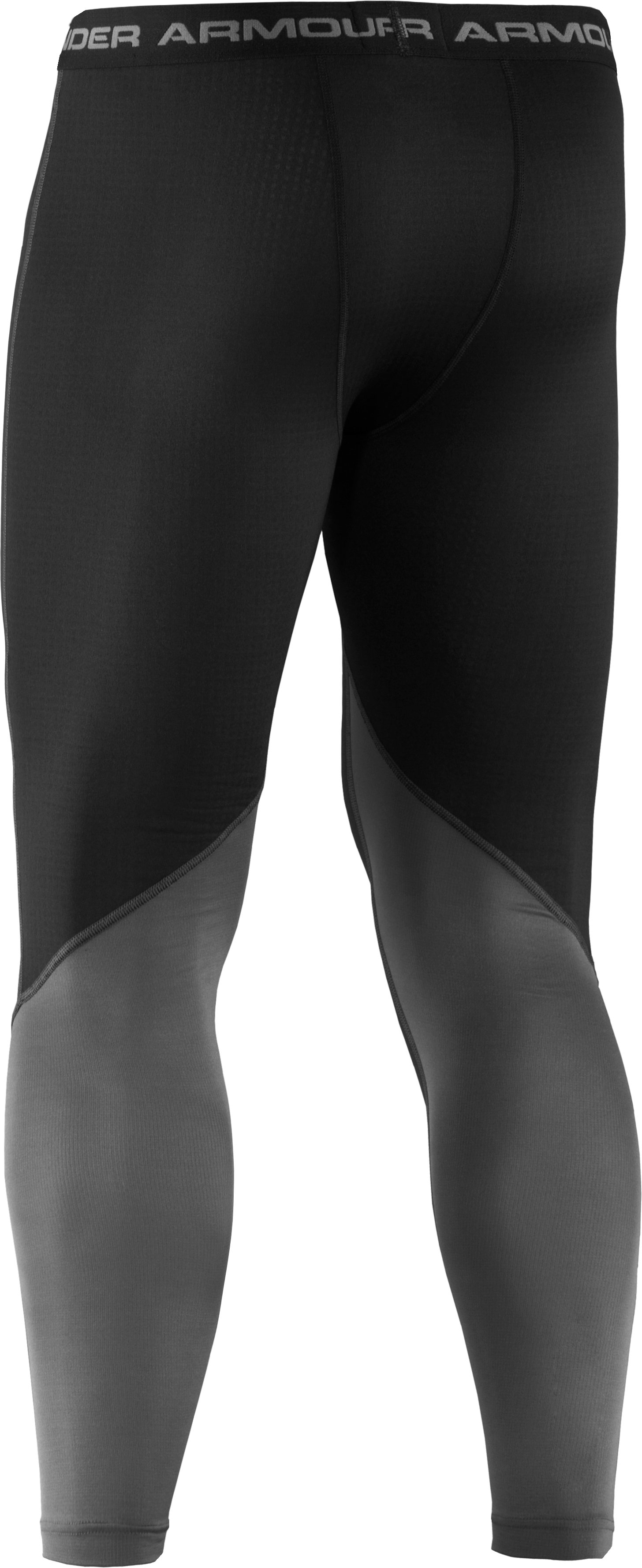 Men's UA Basemap 1.5 Leggings, Black ,