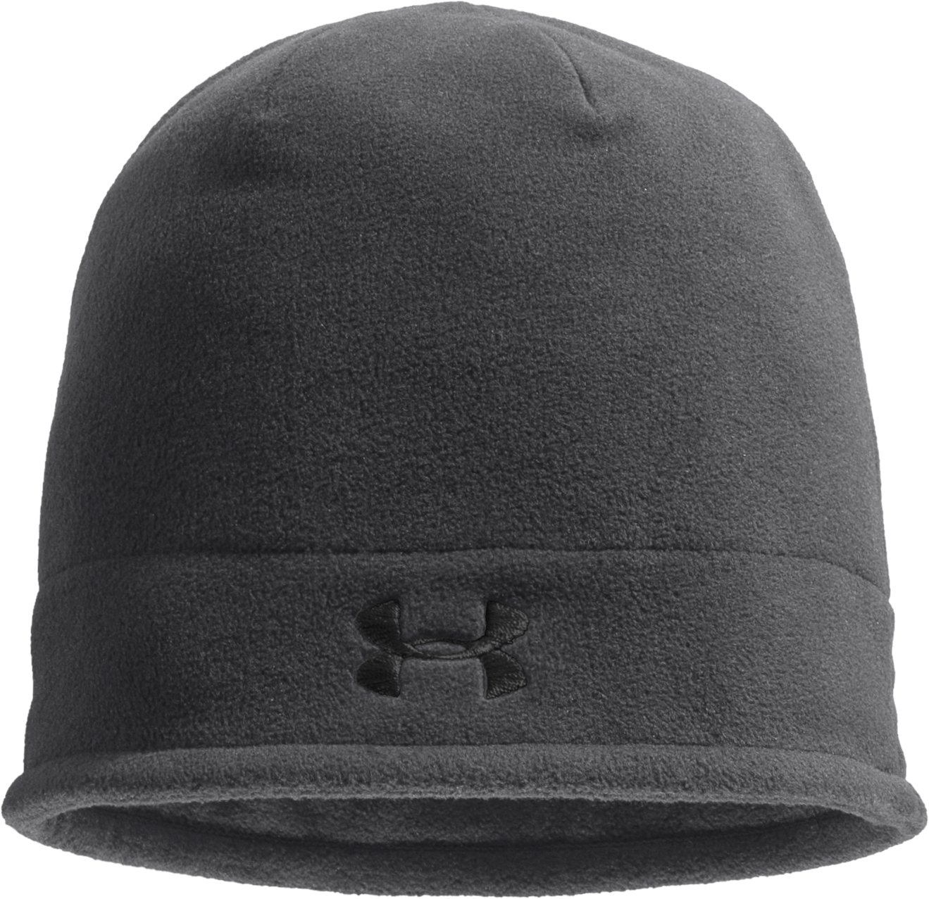 Boys' ColdGear® Infrared Fleece Storm Beanie, Graphite, zoomed image