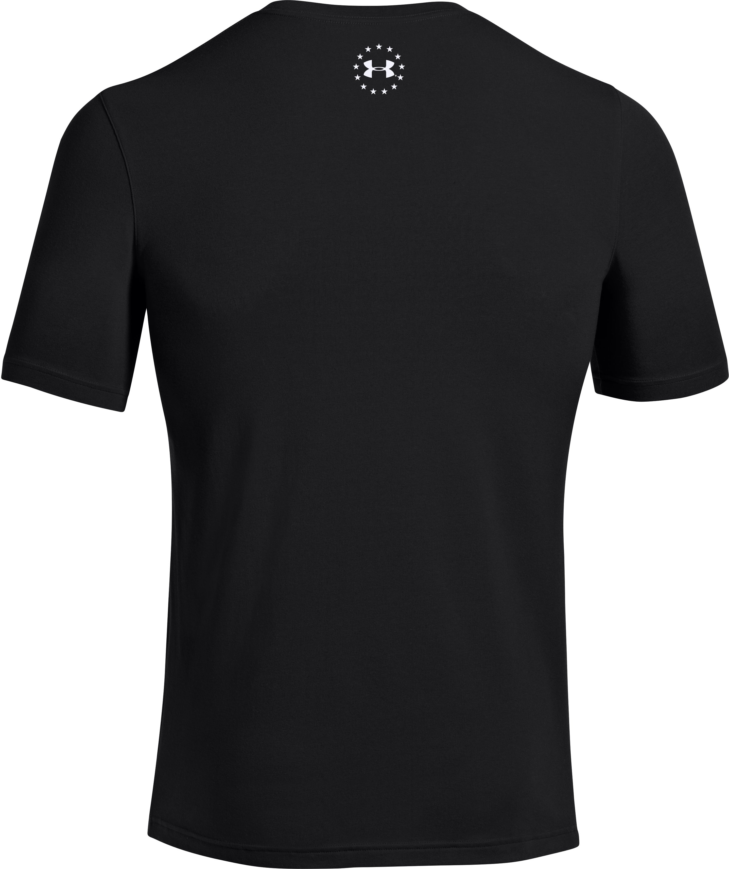 Men's UA Big Flag Logo T-Shirt, Black , undefined
