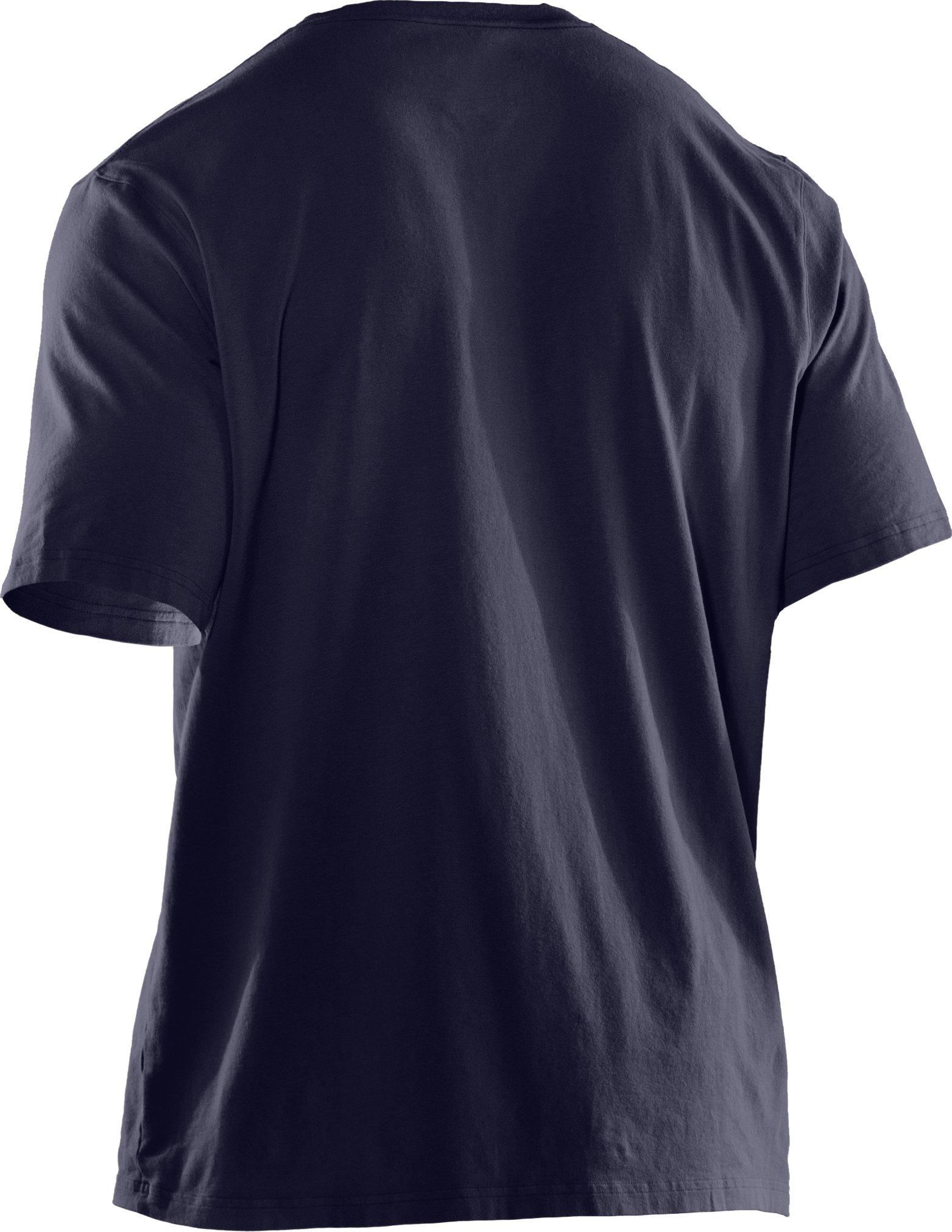 Men's UA Big Flag Logo T-Shirt, Midnight Navy
