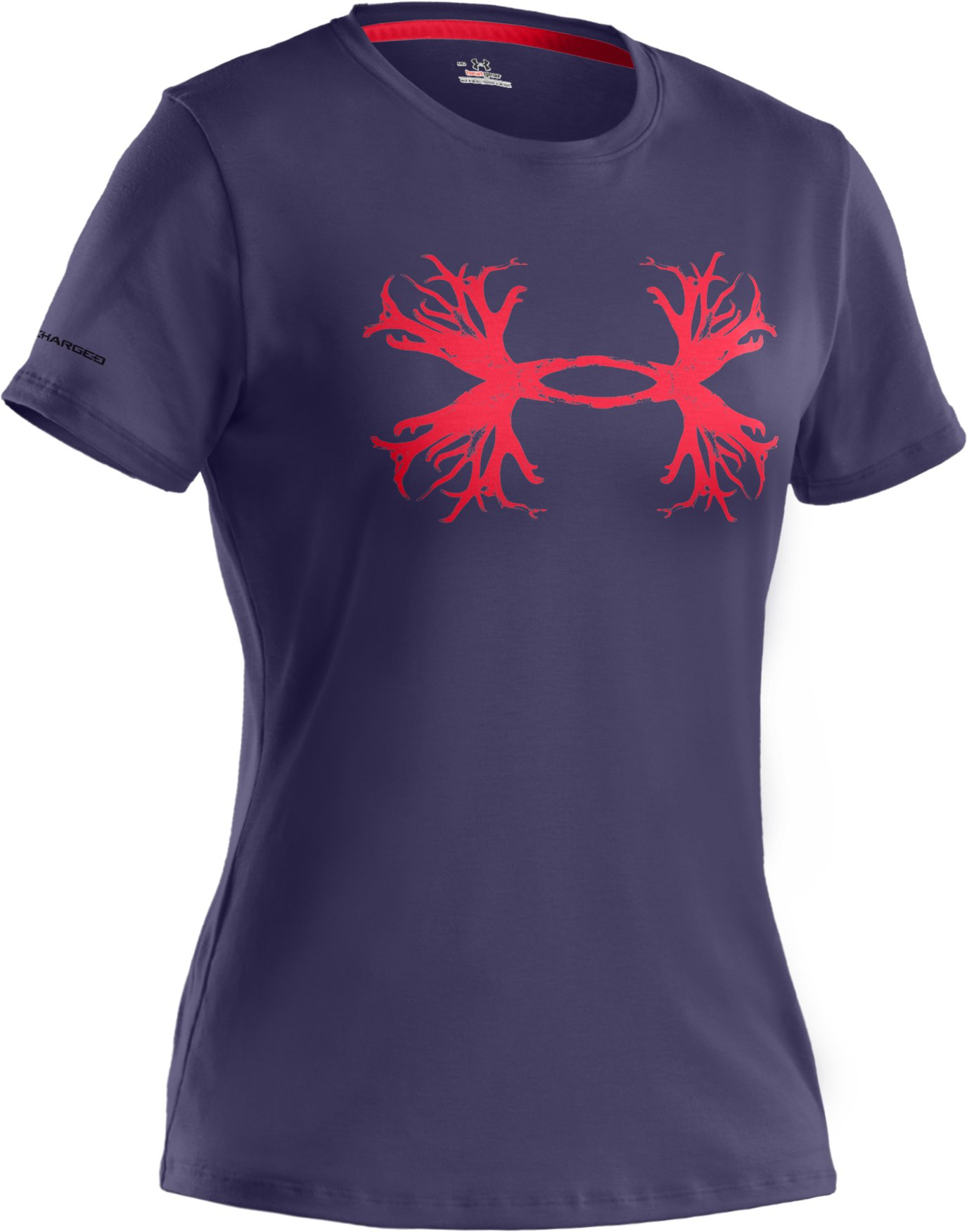 Women's UA Antler Logo T-Shirt, REGAL