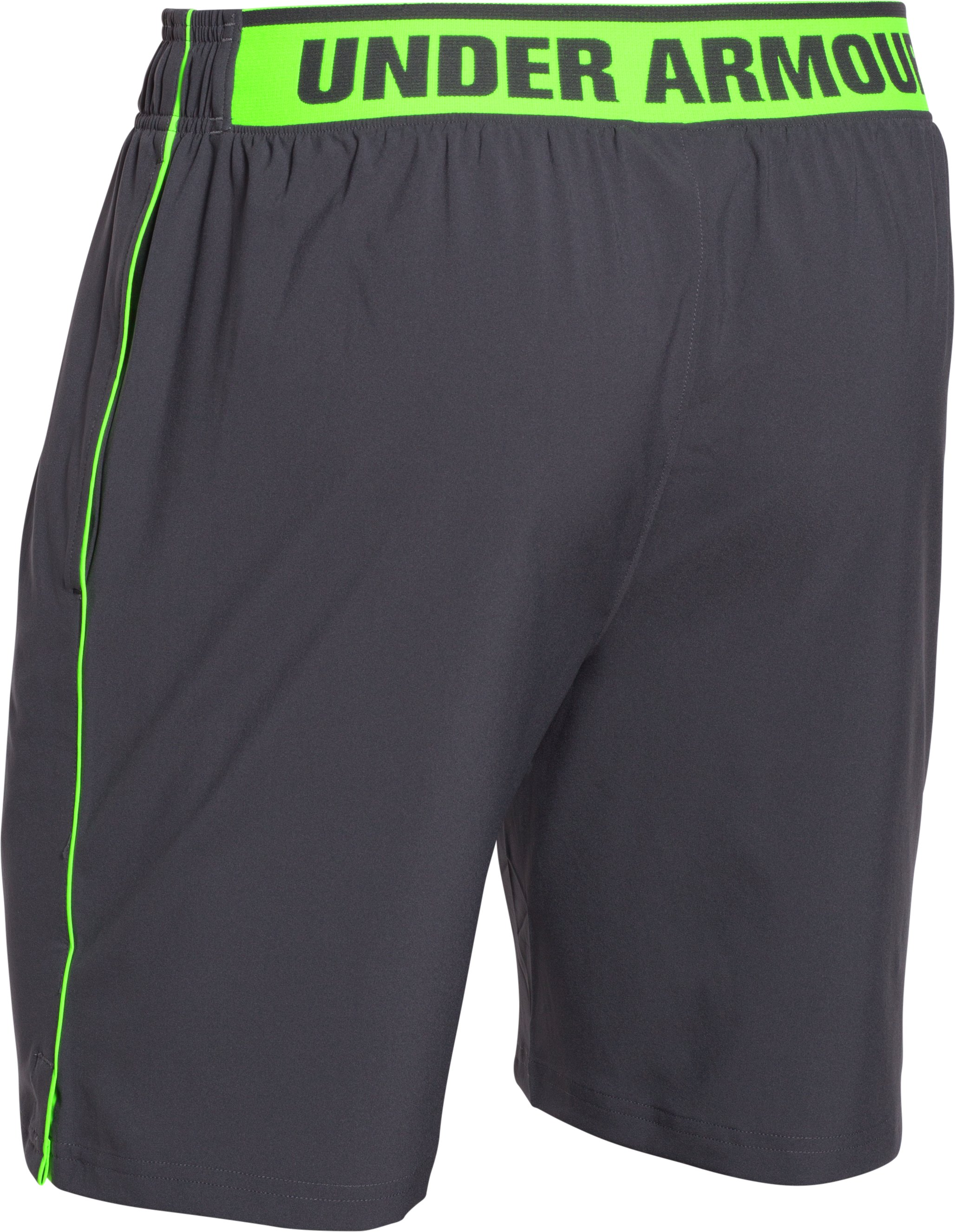 Men's UA Mirage Shorts, STEALTH GRAY