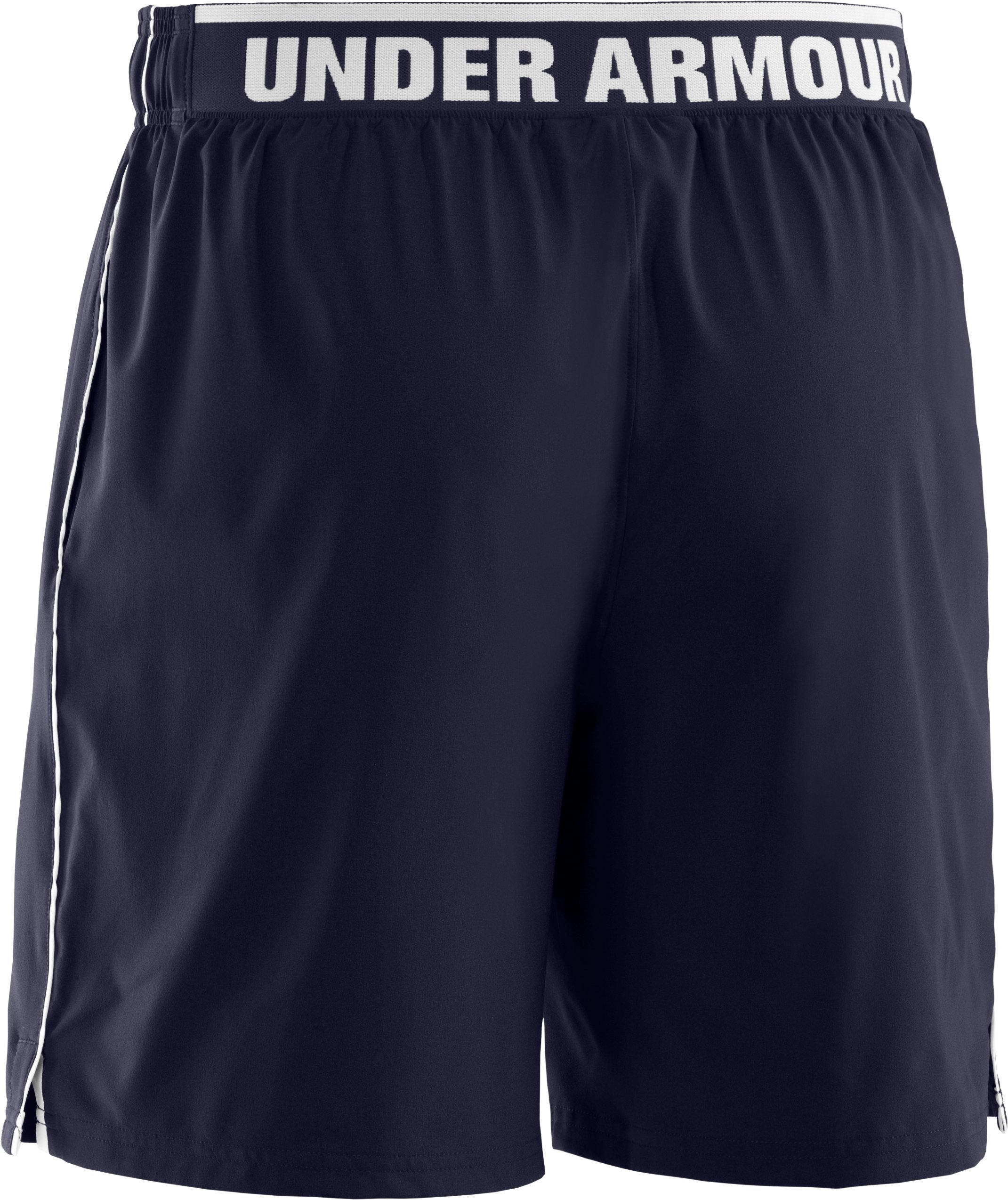 Men's UA Mirage Shorts, Midnight Navy, undefined