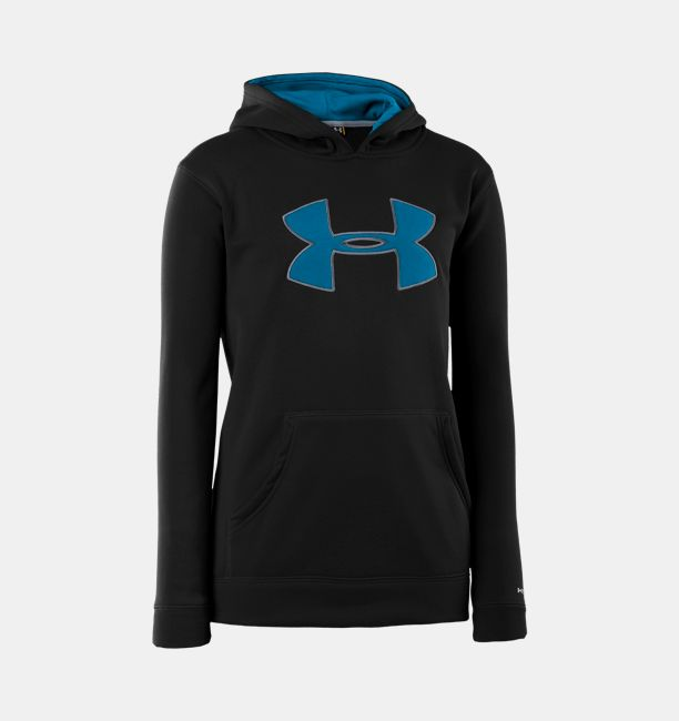 4c0d96ee7 Boys' Armour® Fleece Storm Big Logo Hoodie | Under Armour CA