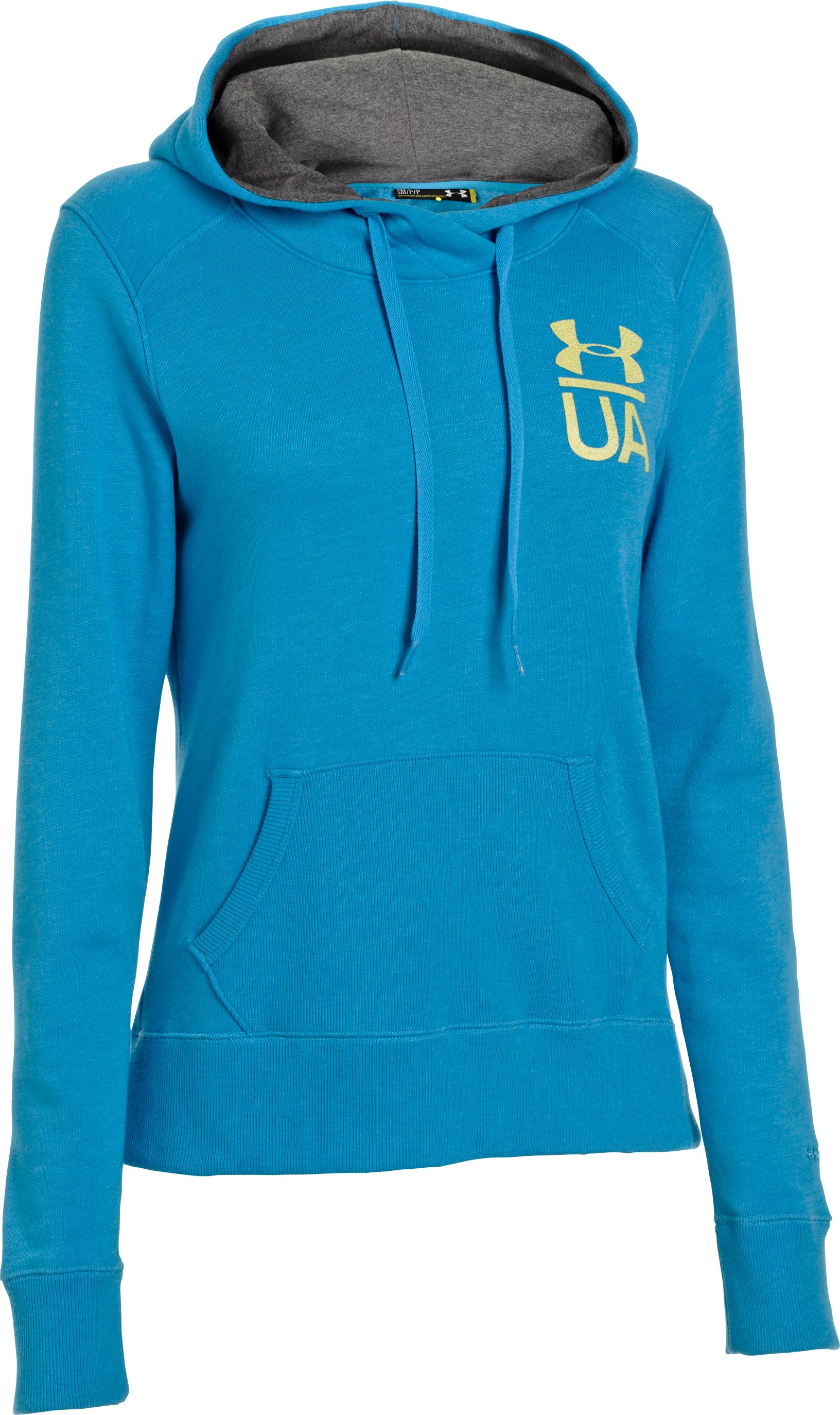 Women's Charged Cotton® Legacy Hoodie, PIRATE BLUE