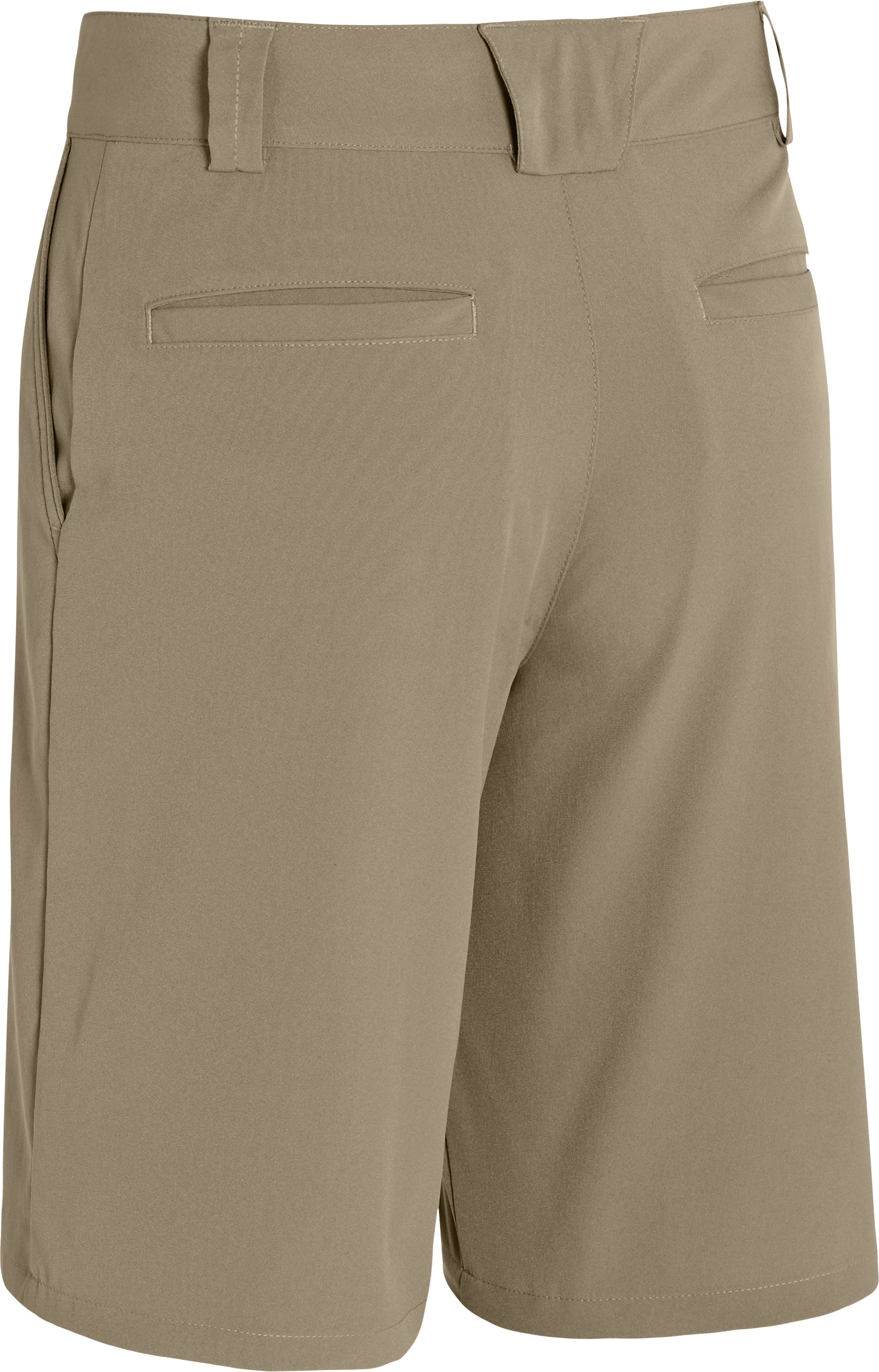 Boys' UA Forged Golf Shorts, Canvas