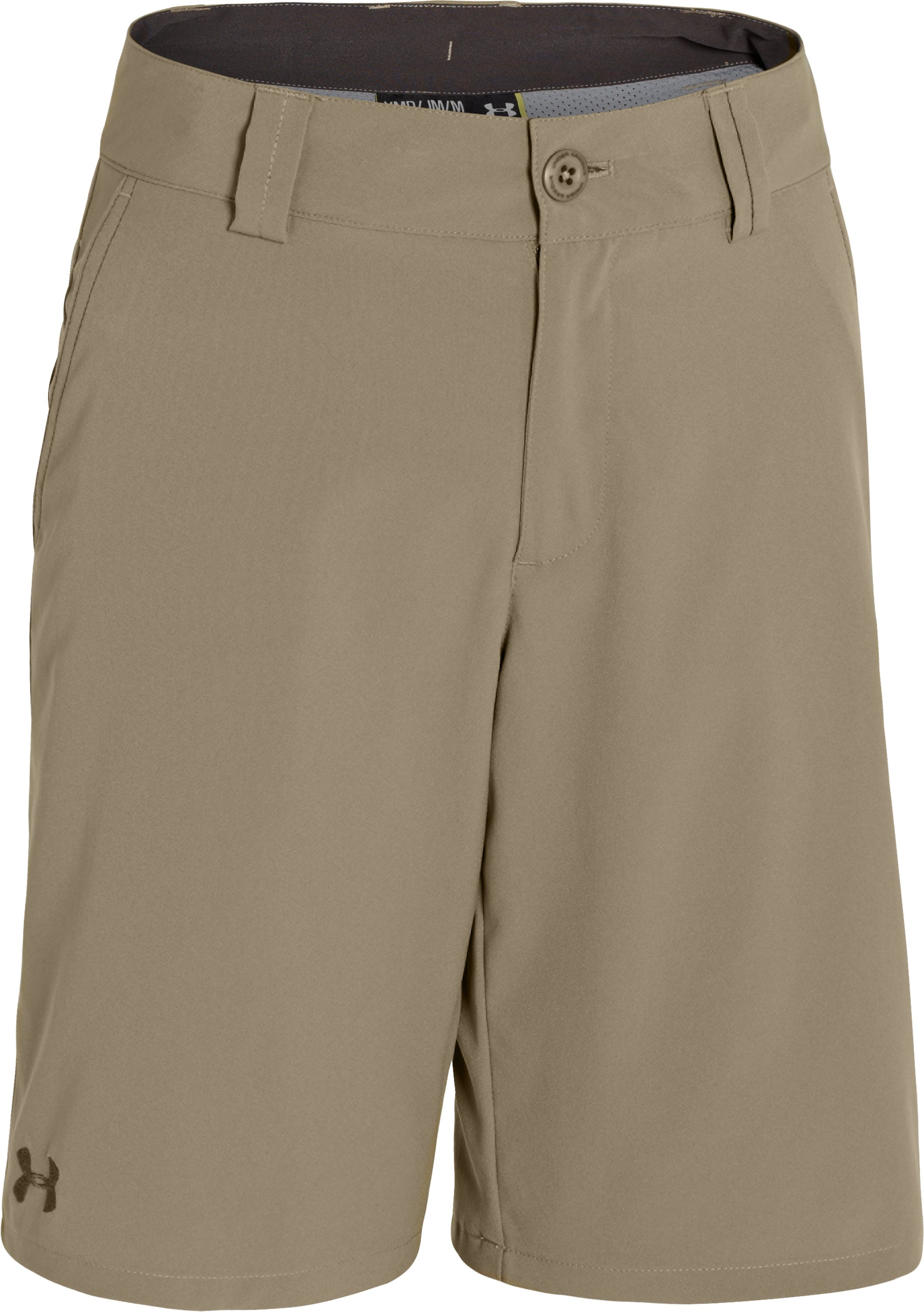 Boys' UA Forged Golf Shorts, Canvas, zoomed image