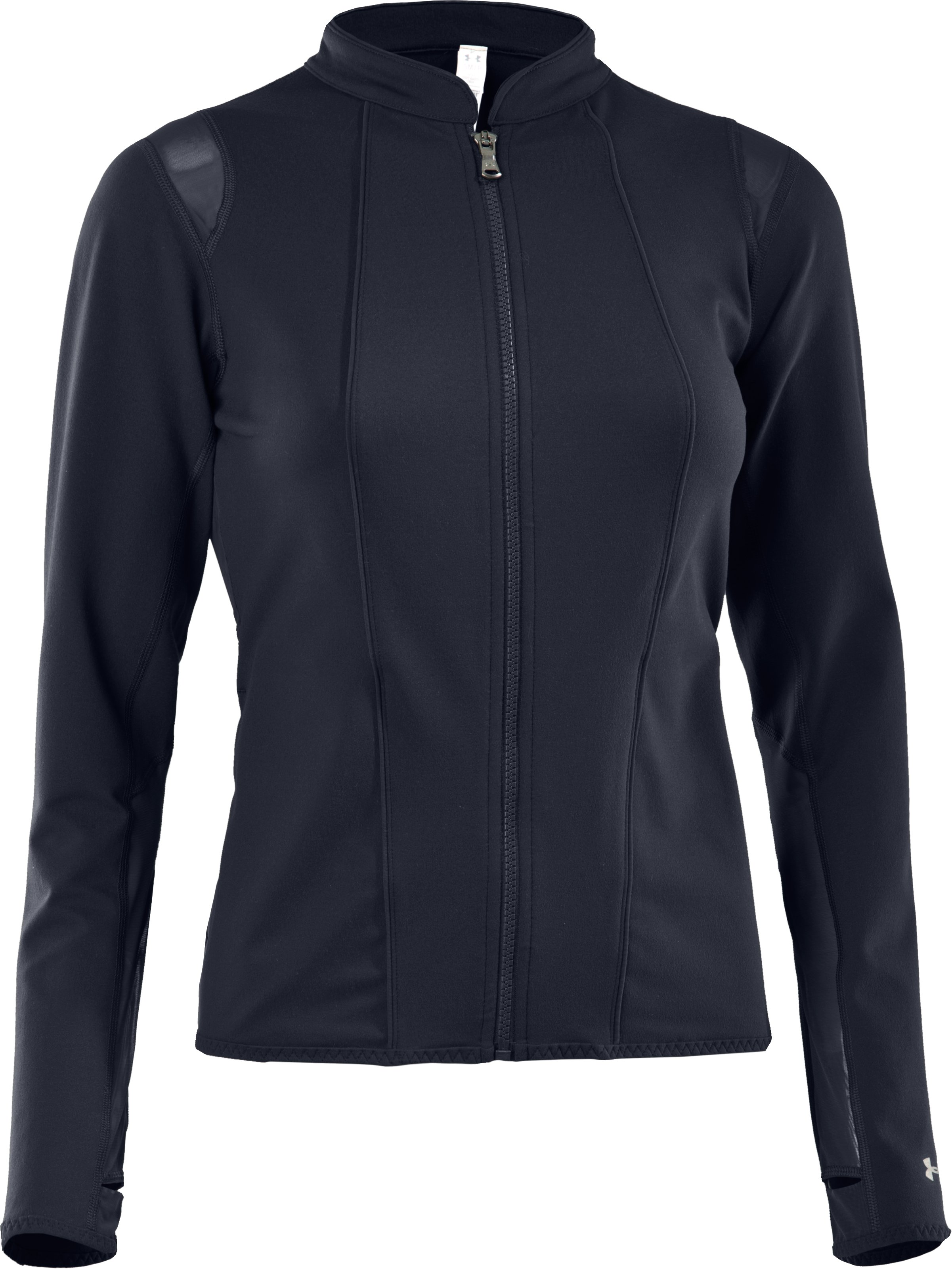UA Studio Rave Jacket, ANTHRACITE, undefined