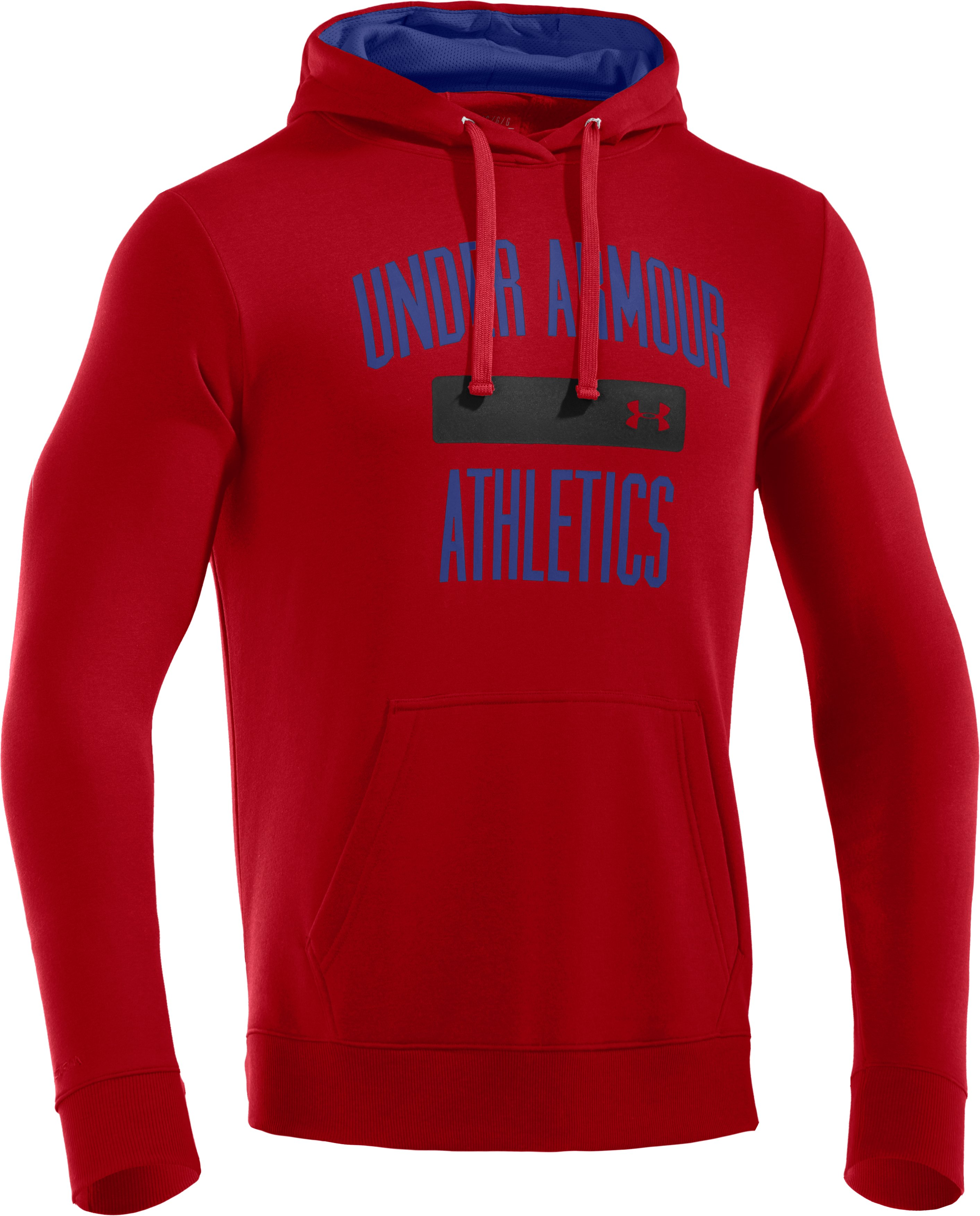 Men's Charged Cotton® Storm Battle Hoodie, Red