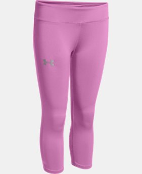 Girls' HeatGear® Armour Capri LIMITED TIME: FREE U.S. SHIPPING 1 Color $17.99 to $22.99