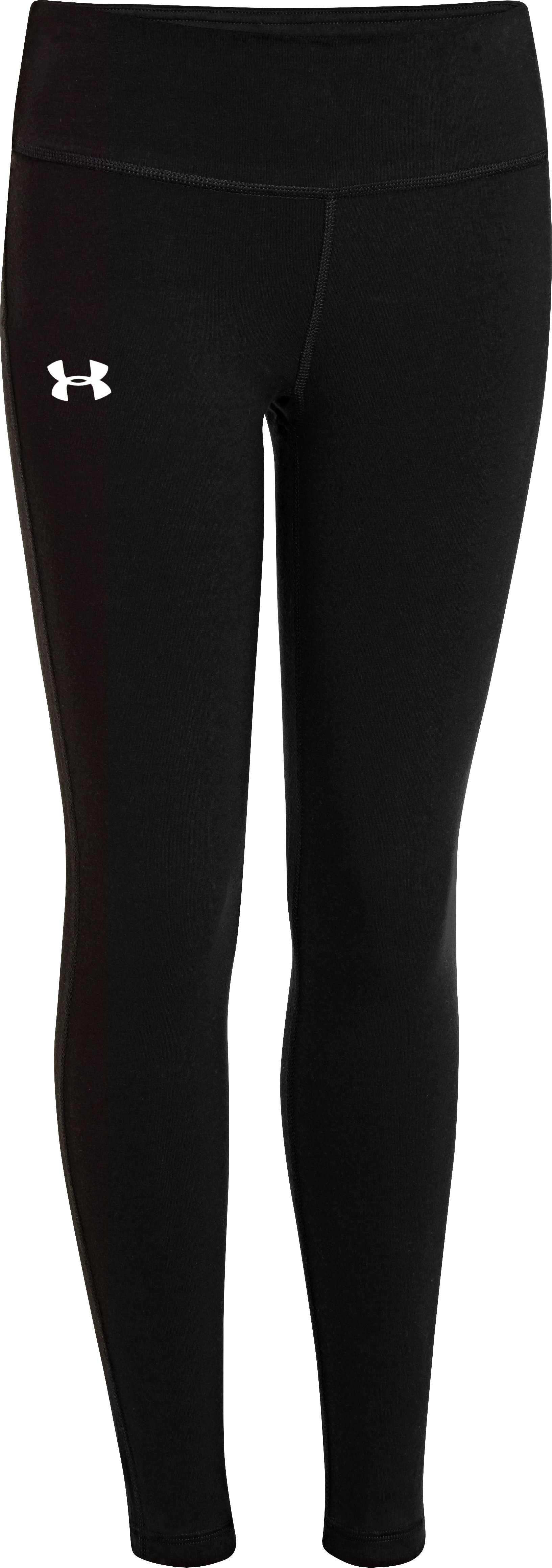 Girls' Ultimate Charged Cotton® Legging, Black , zoomed image