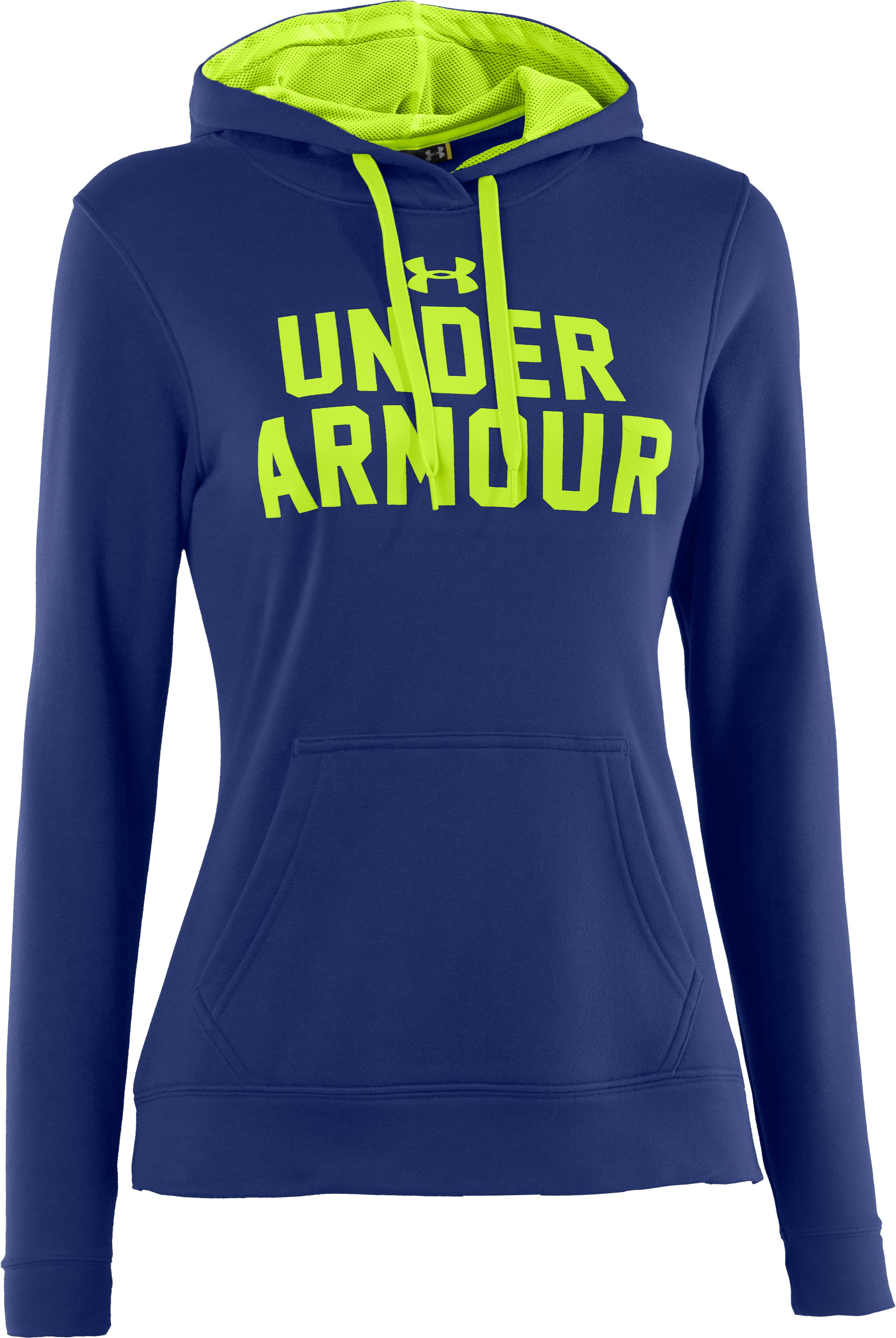 Women's UA Battle Hoodie, BLU-AWAY, undefined