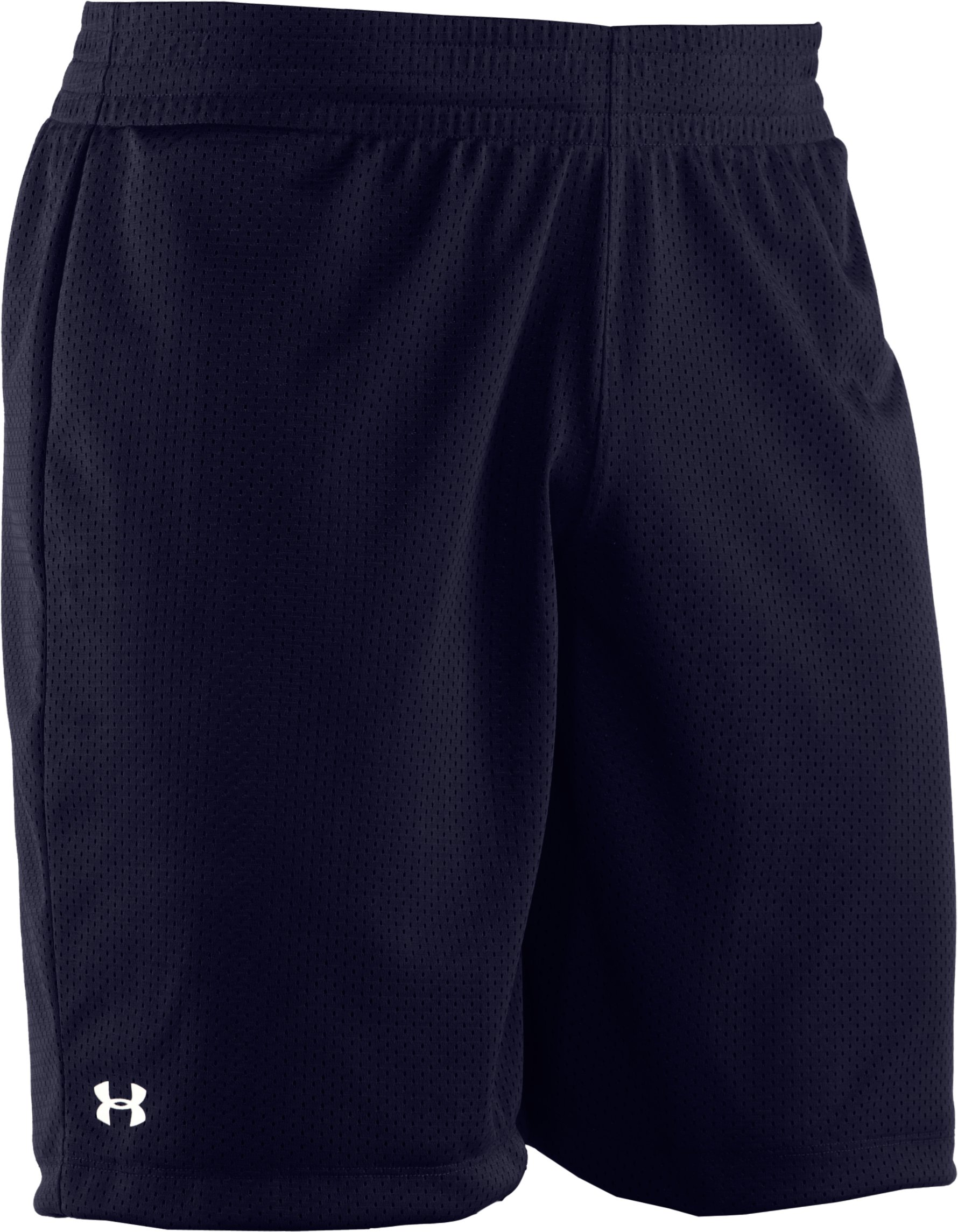 Women's UA Double Double Shorts, Midnight Navy,