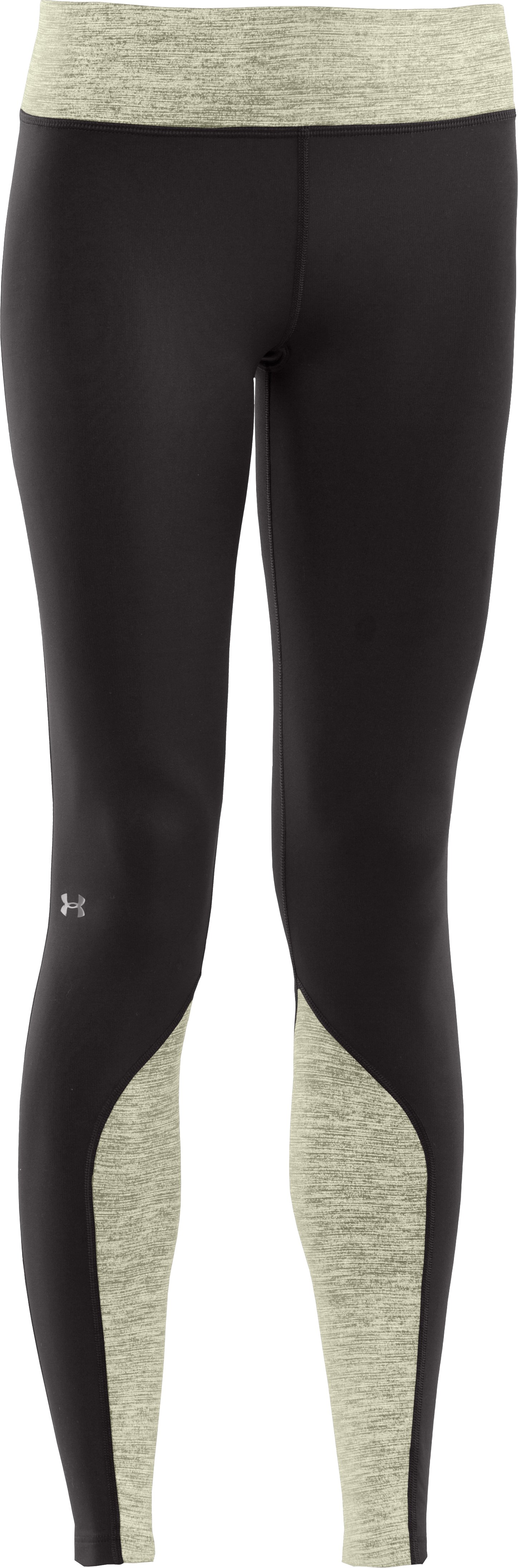 Women's UA Cozy Tight Shimmer, Black , undefined